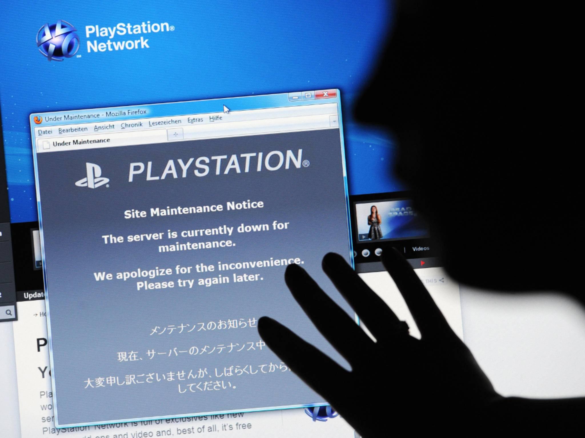 Auch im vergangenen Jahr hatte es Ausfälle im PlayStation Network gegeben.