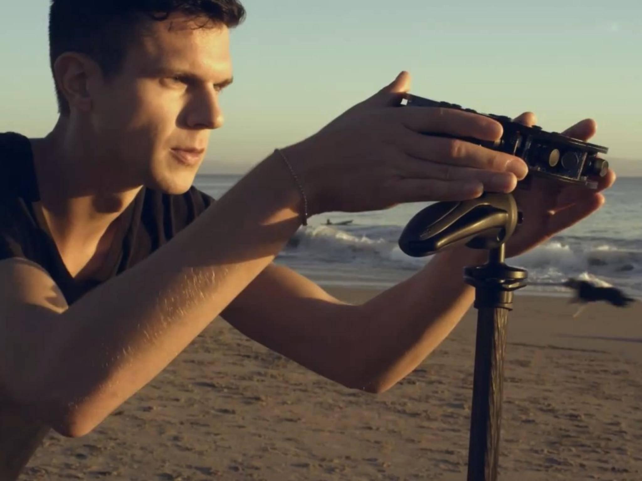 Unter dem Namen Project Beyond tüftelt Samsung schon länger an einer 360-Grad-Kamera.
