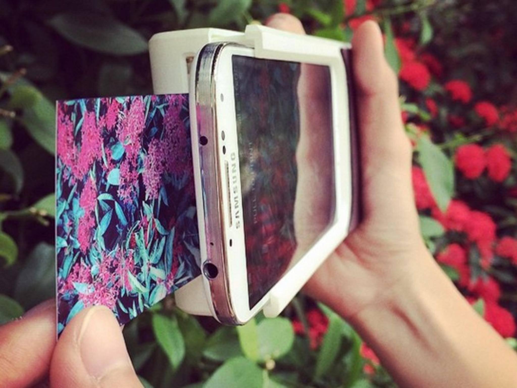 Prynt will aus Deinem Smartphone eine Polaroid-Kamera machen.