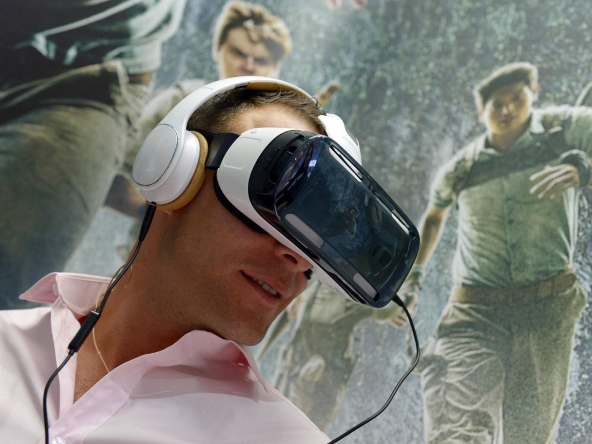 Samsung Gear VR bietet mobiles Kopfkino ab Dezember.