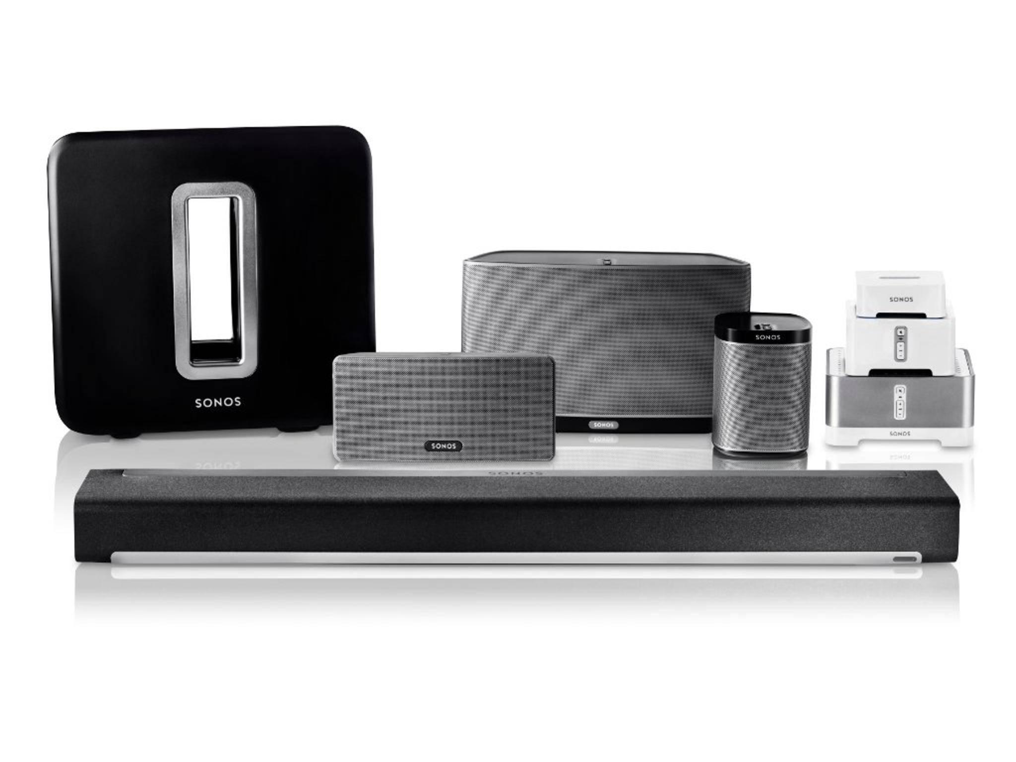 In naher Zukunft lassen sich Sonos-Komponenten mit der Smartwatch bedienen.