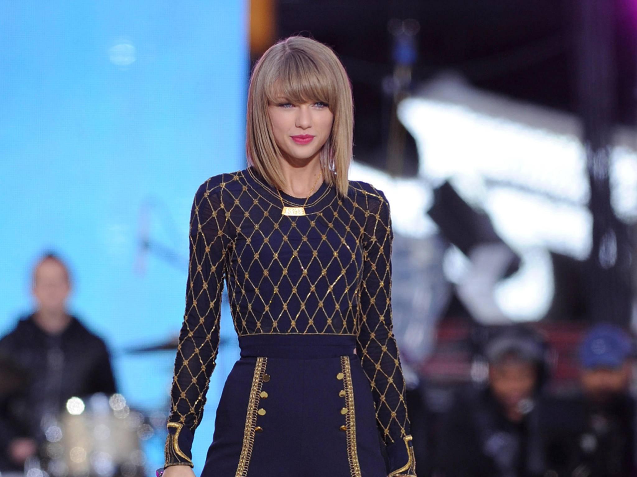 Alben von Taylor Swift gibt es auf Spotify nicht mehr zu hören.