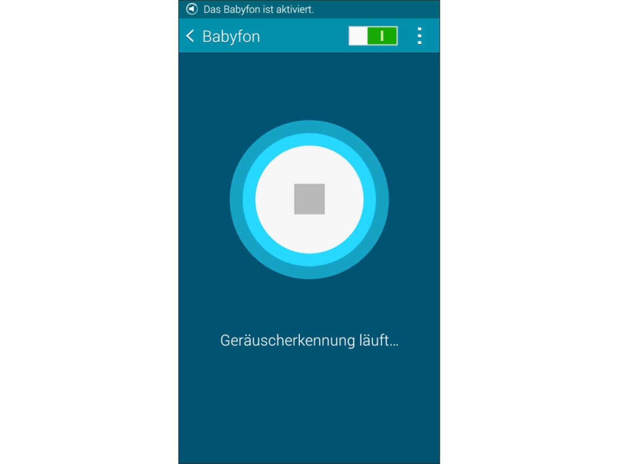 Das Galaxy Note 4 lässt sich auch als Babyfon nutzen.