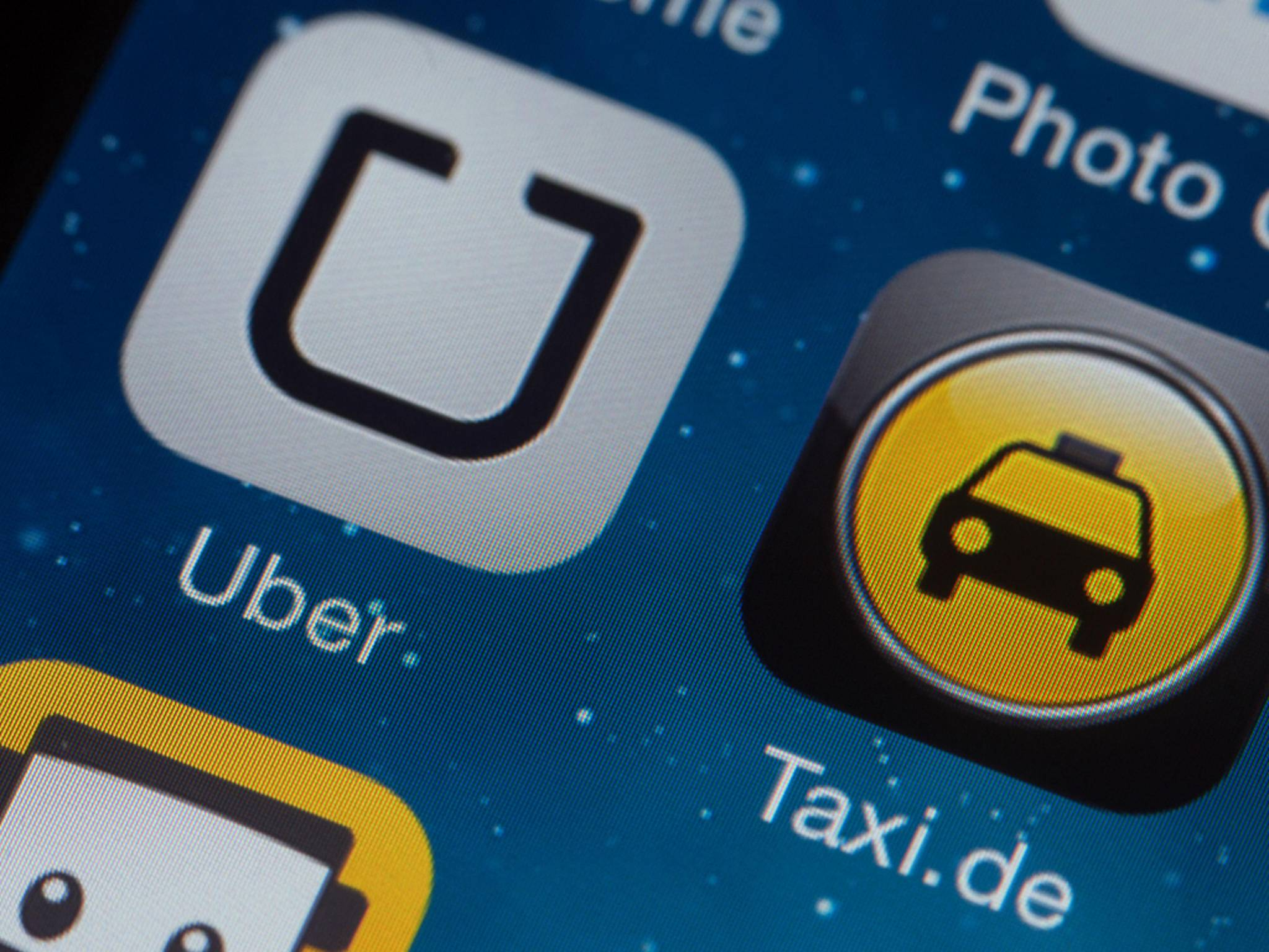 Taxi-App Uber