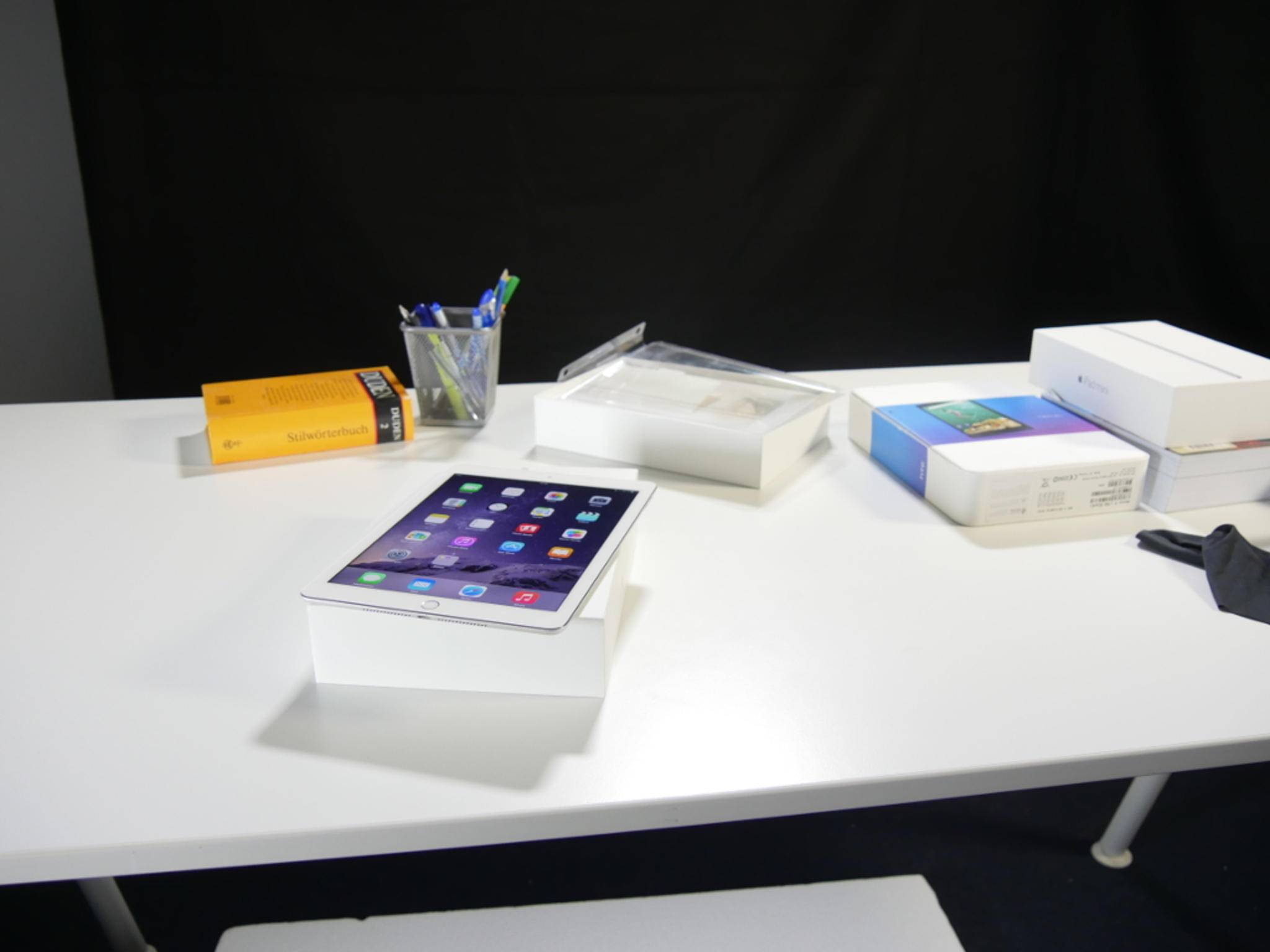 Das iPad Air 2 bietet kaum Platz für einen großen Akku.