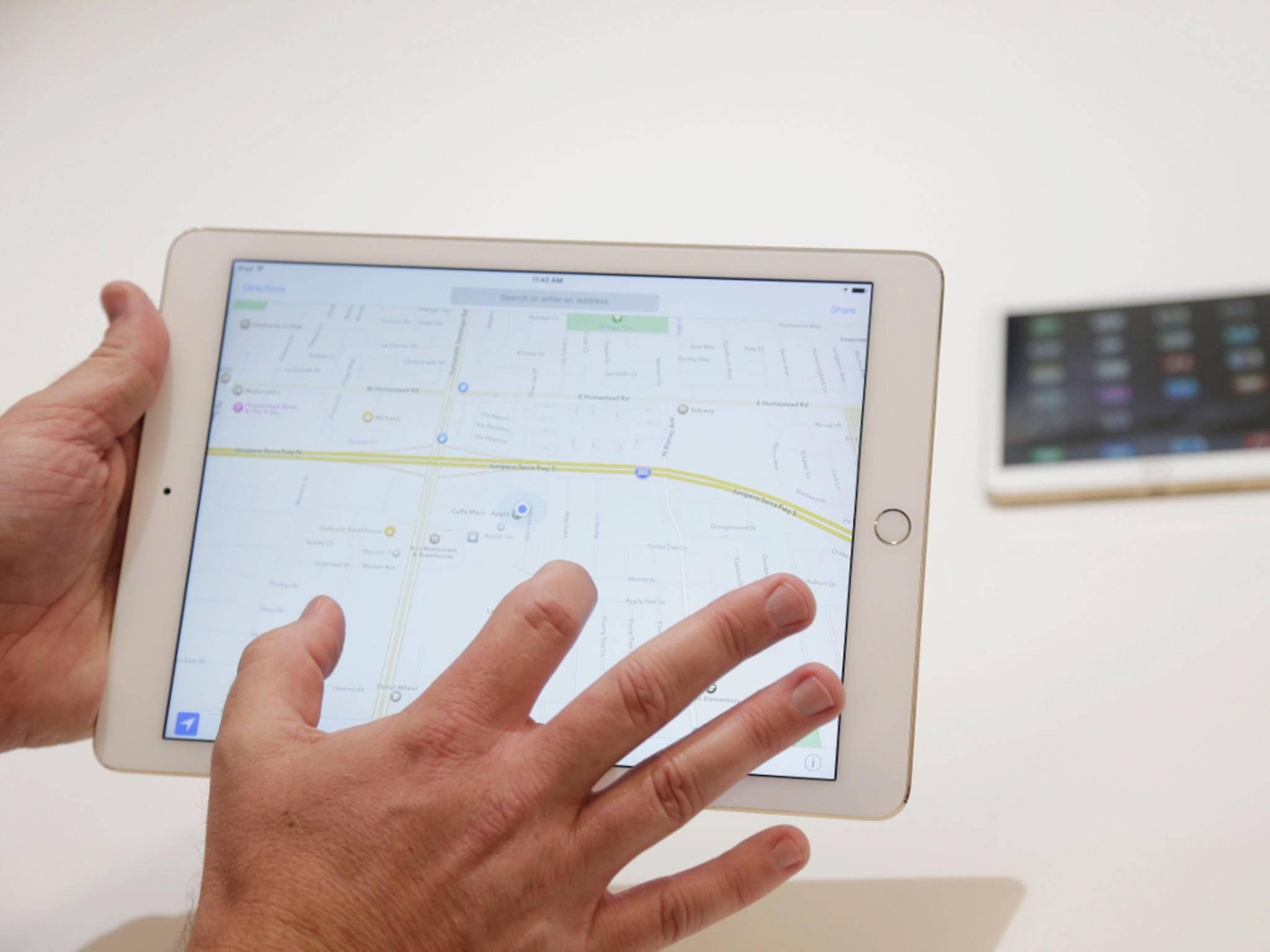 Das iPad Pro soll noch deutlich größer als das iPad Air ausfallen.