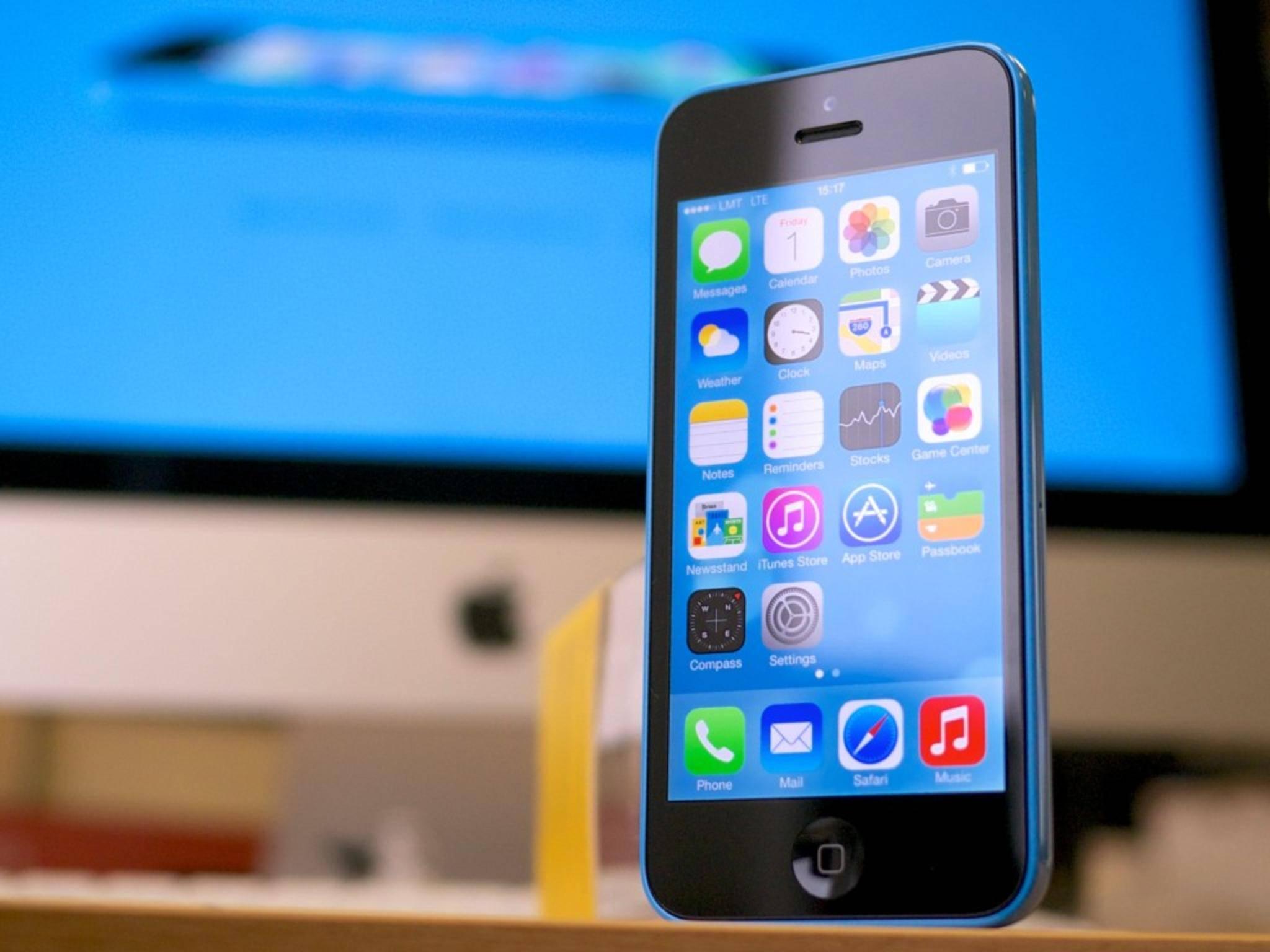 Das iPhone 5c rettete einem Mann in England das Leben.