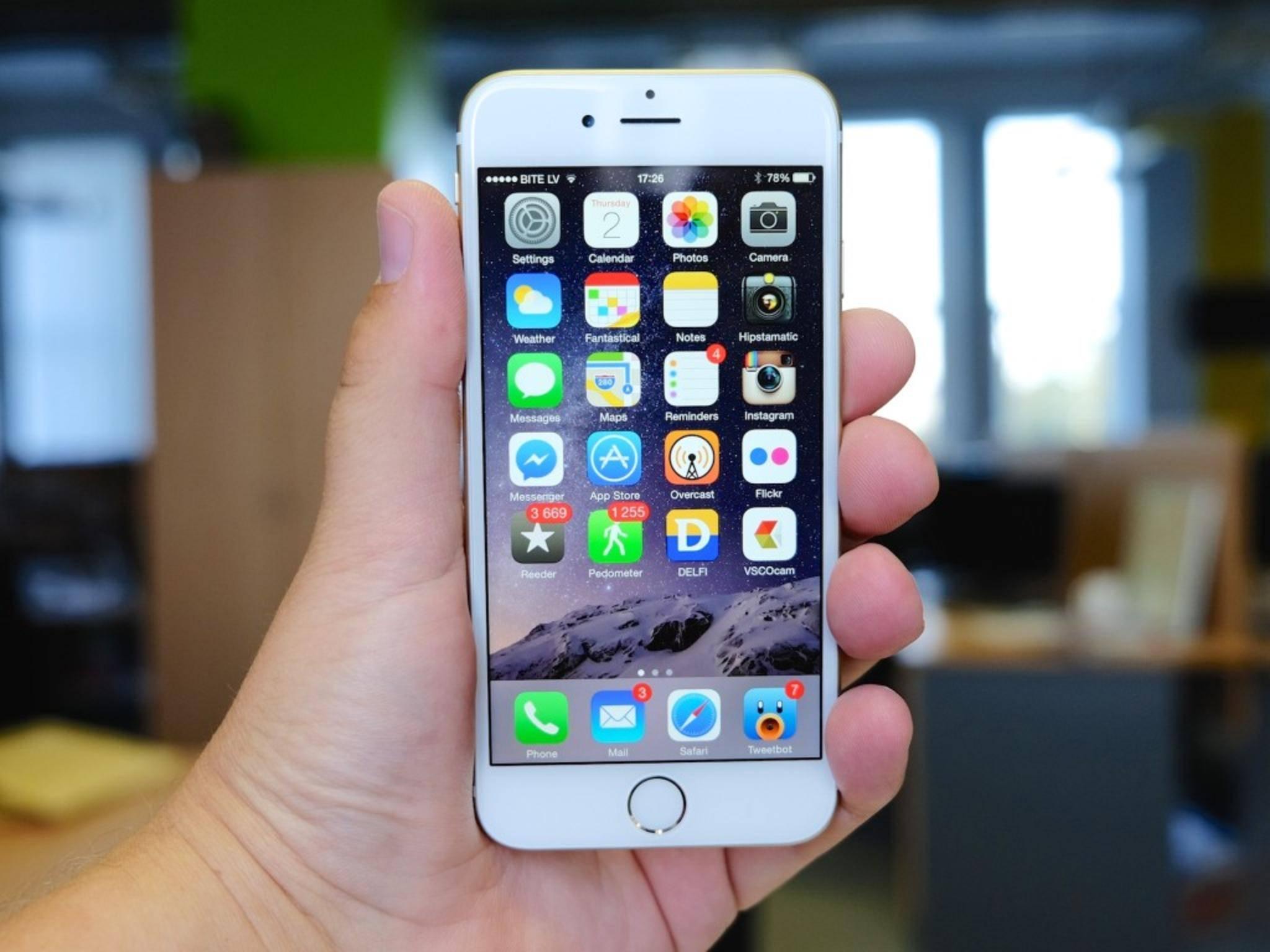 Rosige Aussichten für Apple: Das iPhone 6 verkauft sich hervorragend.