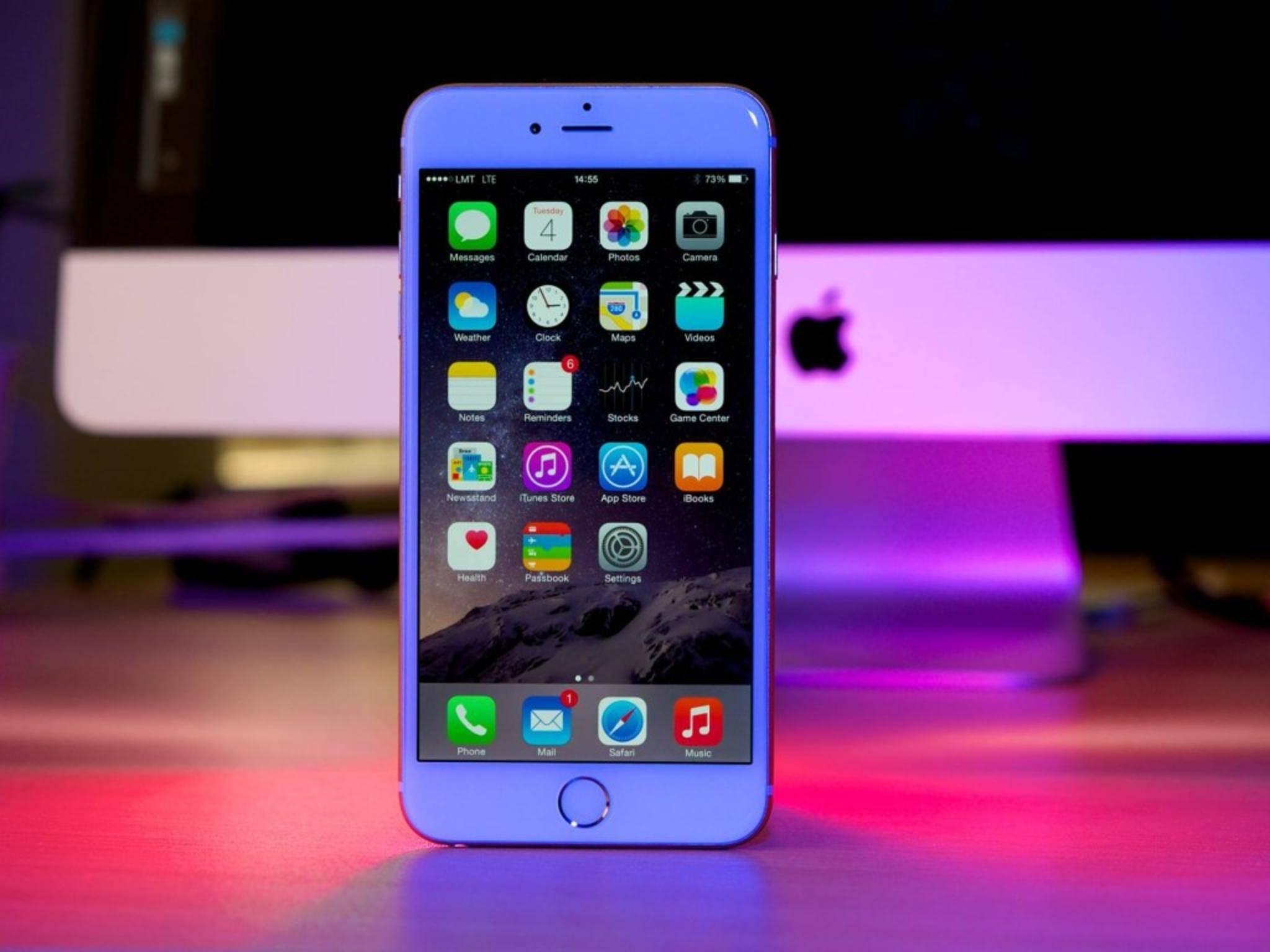 Das iPhone 6 gibt es in der Mittelklasse nur noch mit 64 GB Speicher.