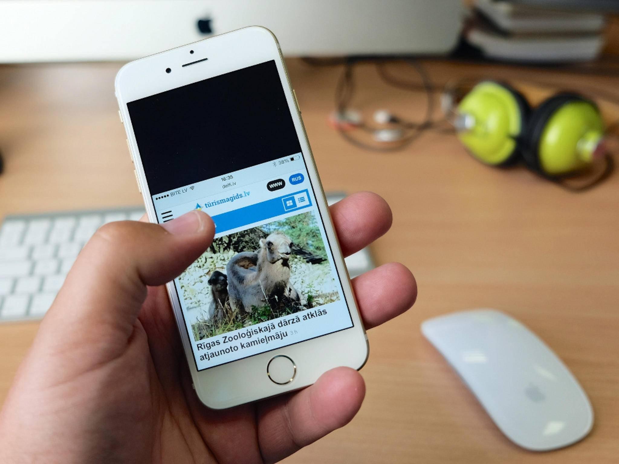 Wer seine Fotos nicht offen auf dem iPhone lassen möchte, kann diese auch verstecken.