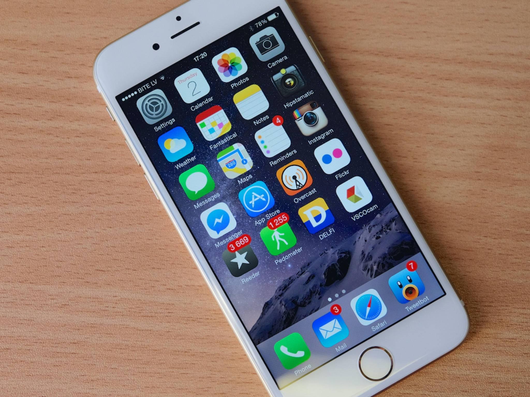 Das iPhone 6 und das iPhone 6 Plus können 4K-Videos abspielen.