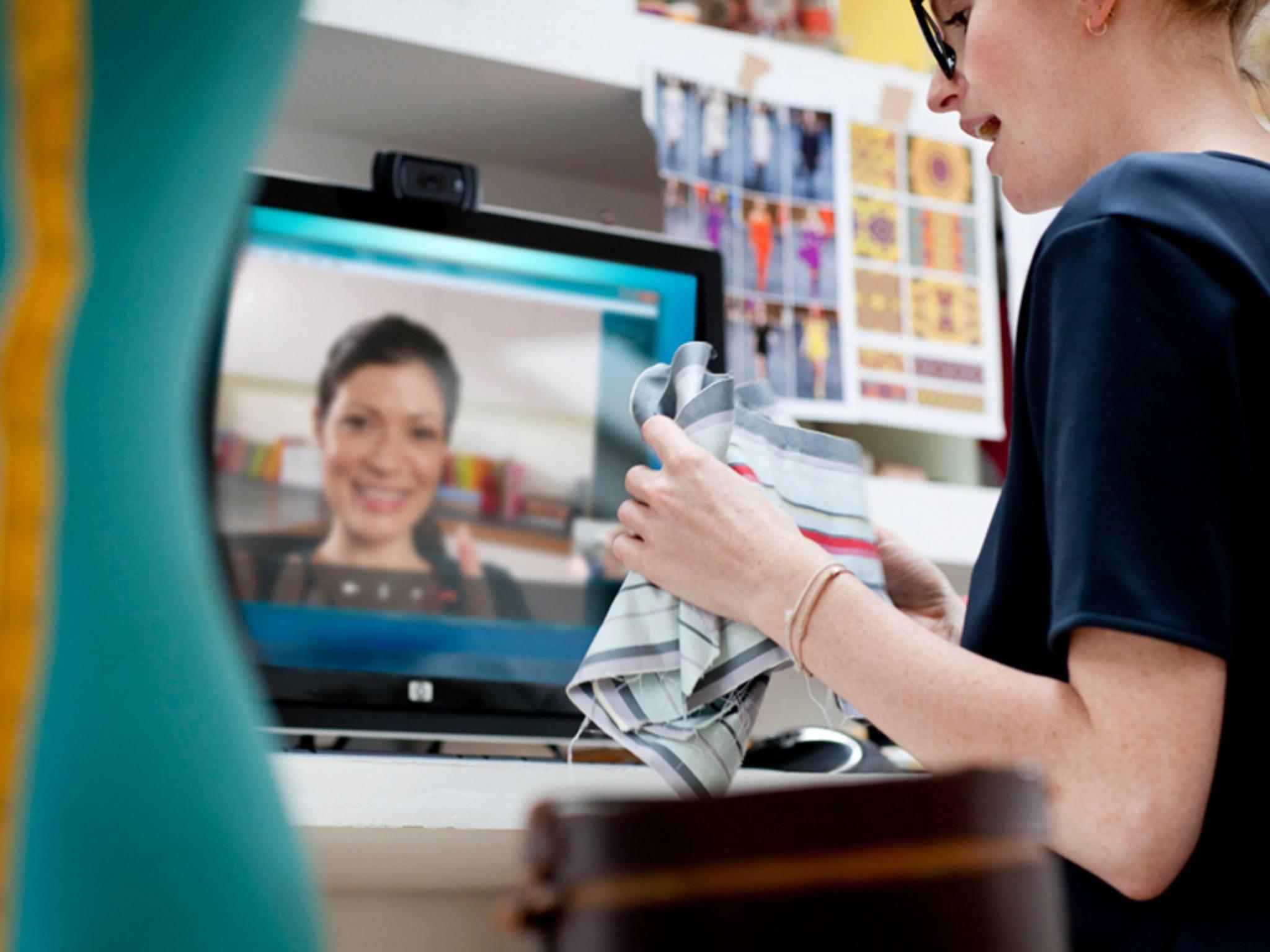 Egal ob Computer oder SmartTV: Dank Skype und Co. können wir uns auf Bildschirmen sehen.