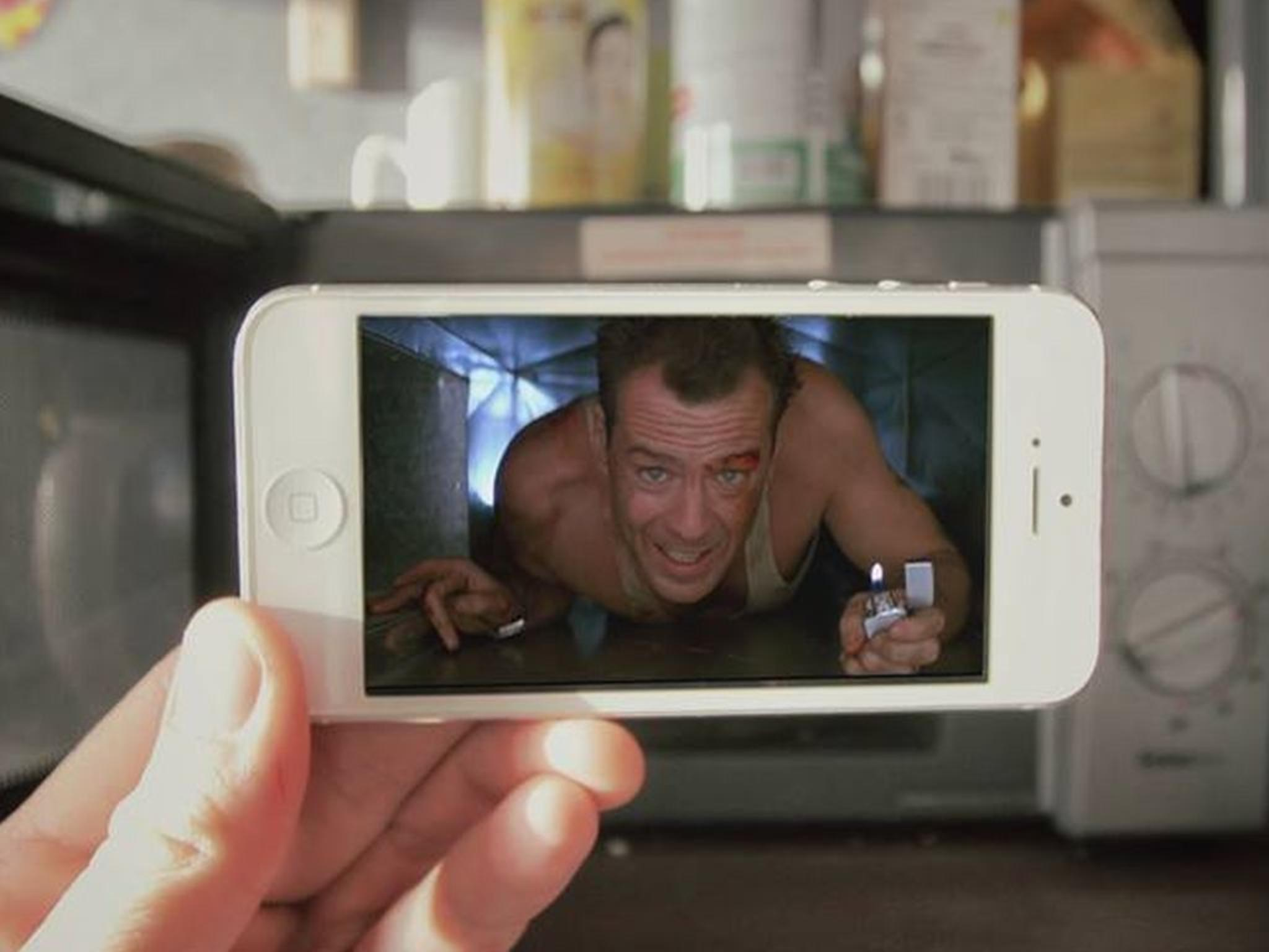 Hollywood in der Mikrowelle: Francois Dourlen vermischt Film mit Realität.