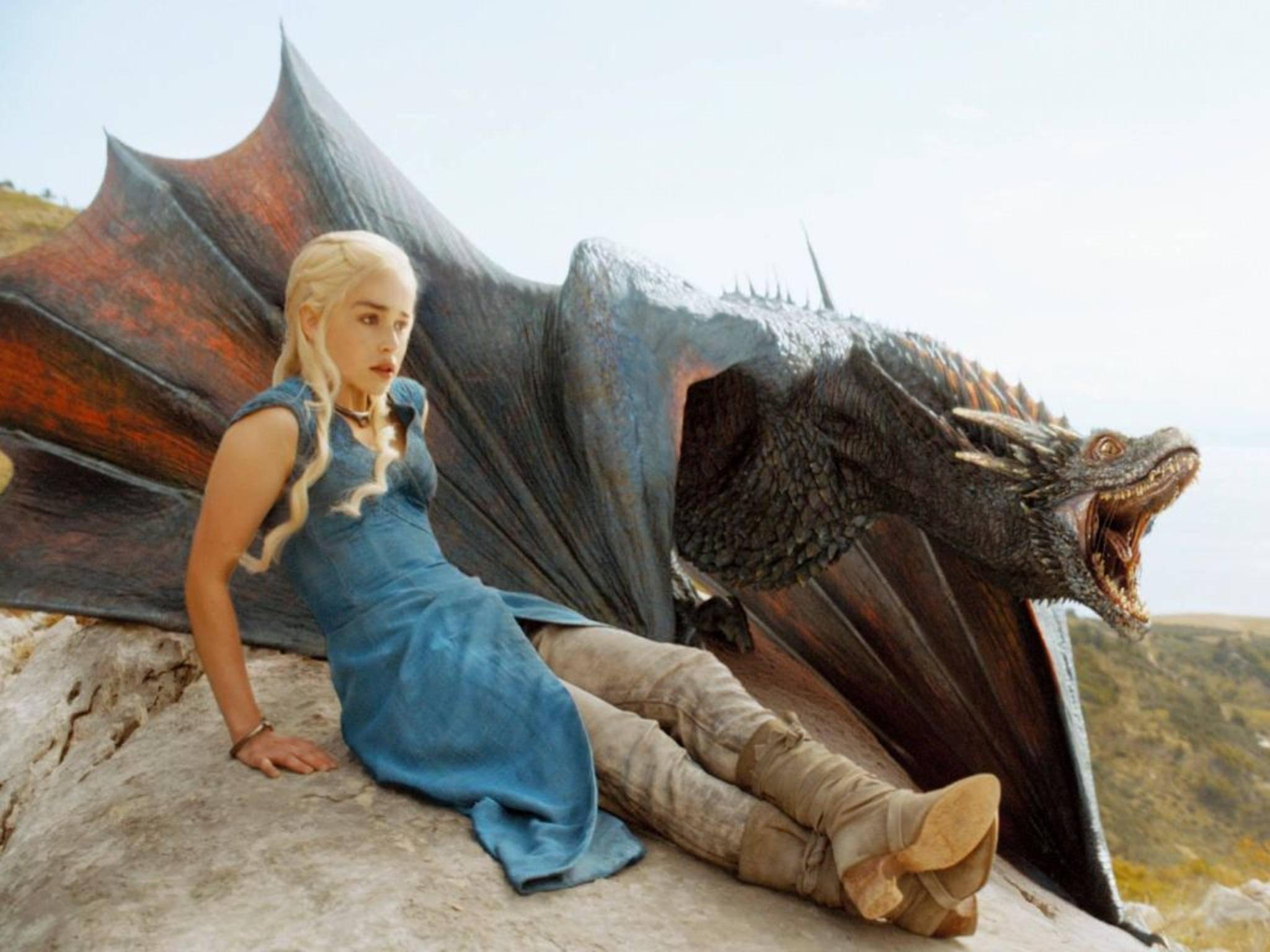 """Jede Menge Sex, Gewalt und natürlich Drachen: """"Game of Thrones"""" ist die weltweit beliebteste Serie."""
