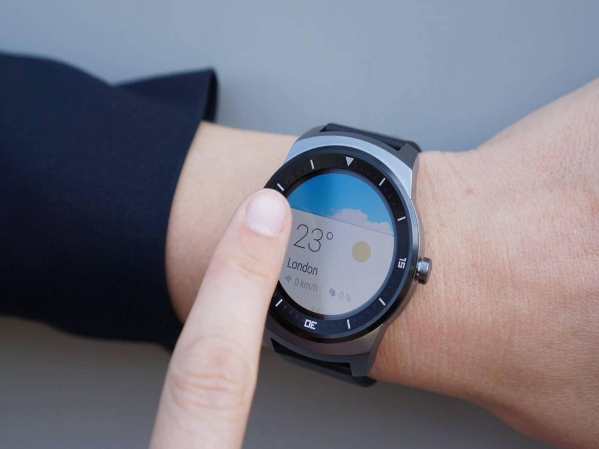 Der Nachfolger der G Watch R steht schon in den Startlöchern.