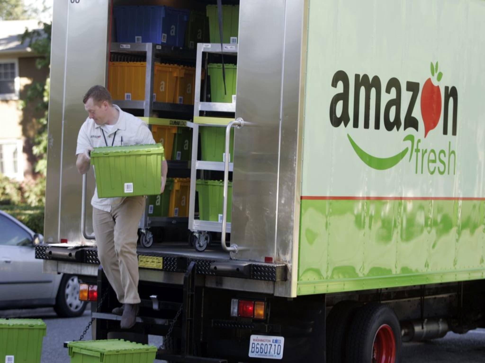 Frische Lebensmittel kann man in den USA schon bei Amazon bestellen. Und nun auch eine frische Pizza.