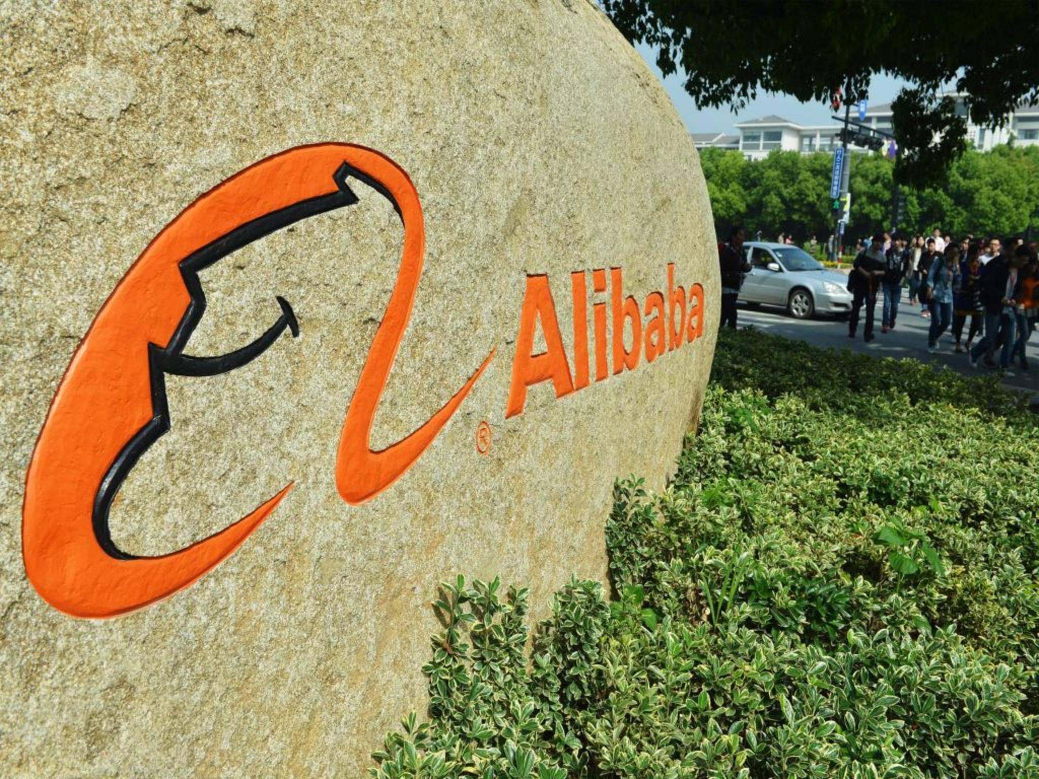 Alibaba, die größte IT-Firma Chinas, rangiert auf Platz 7.