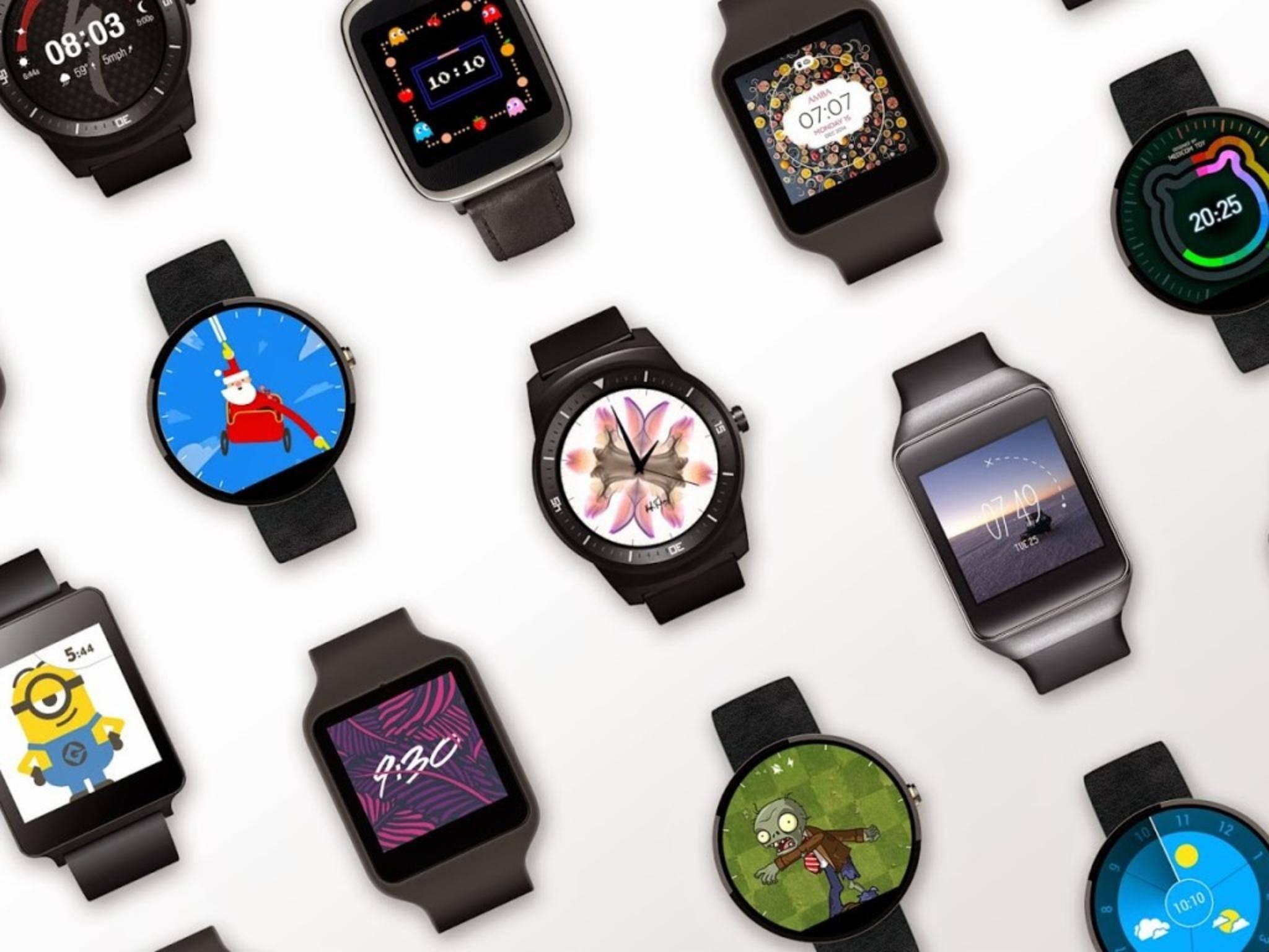 Minion, Santa und Co.: Viele Apps bringen neue Zifferblätter auf Android Wear-Geräte.