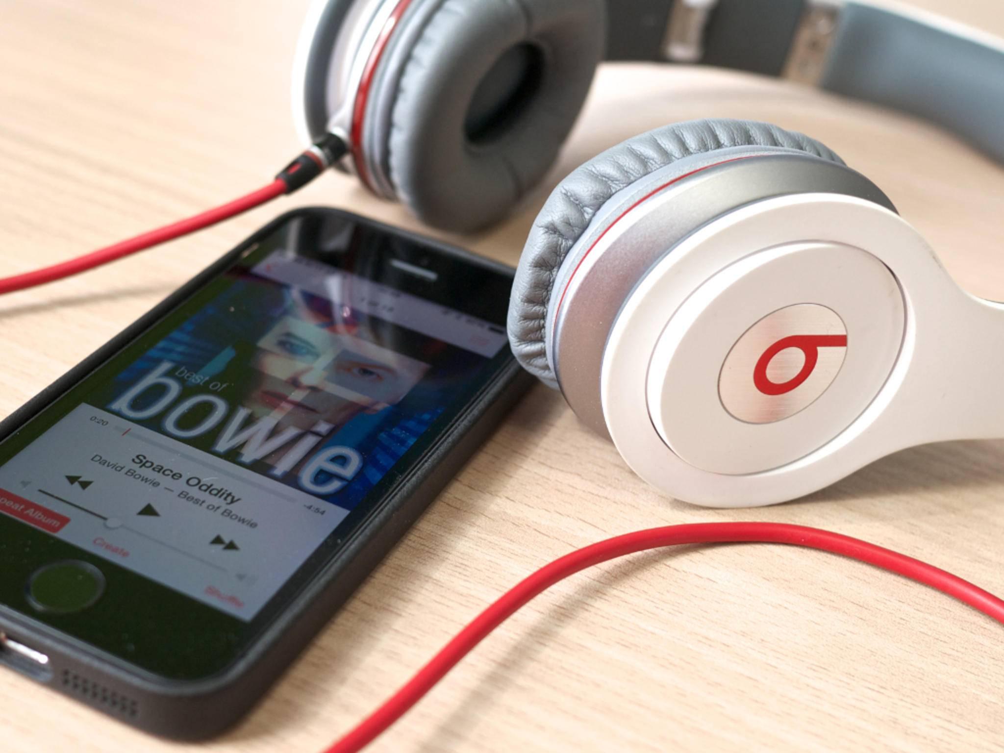 iPhone und Beats-Kopfhörer