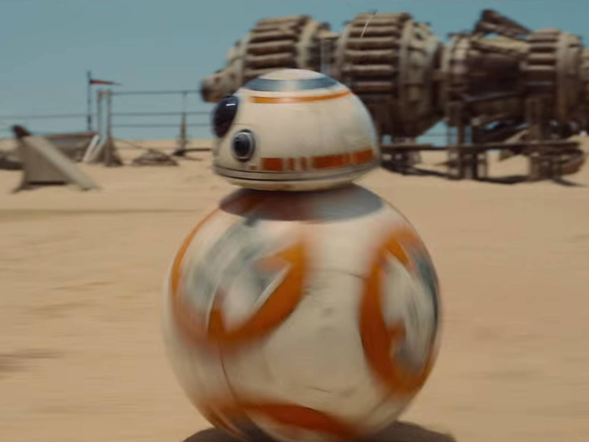 Dieser kugelige Roboter hört auf den Namen BB-8.
