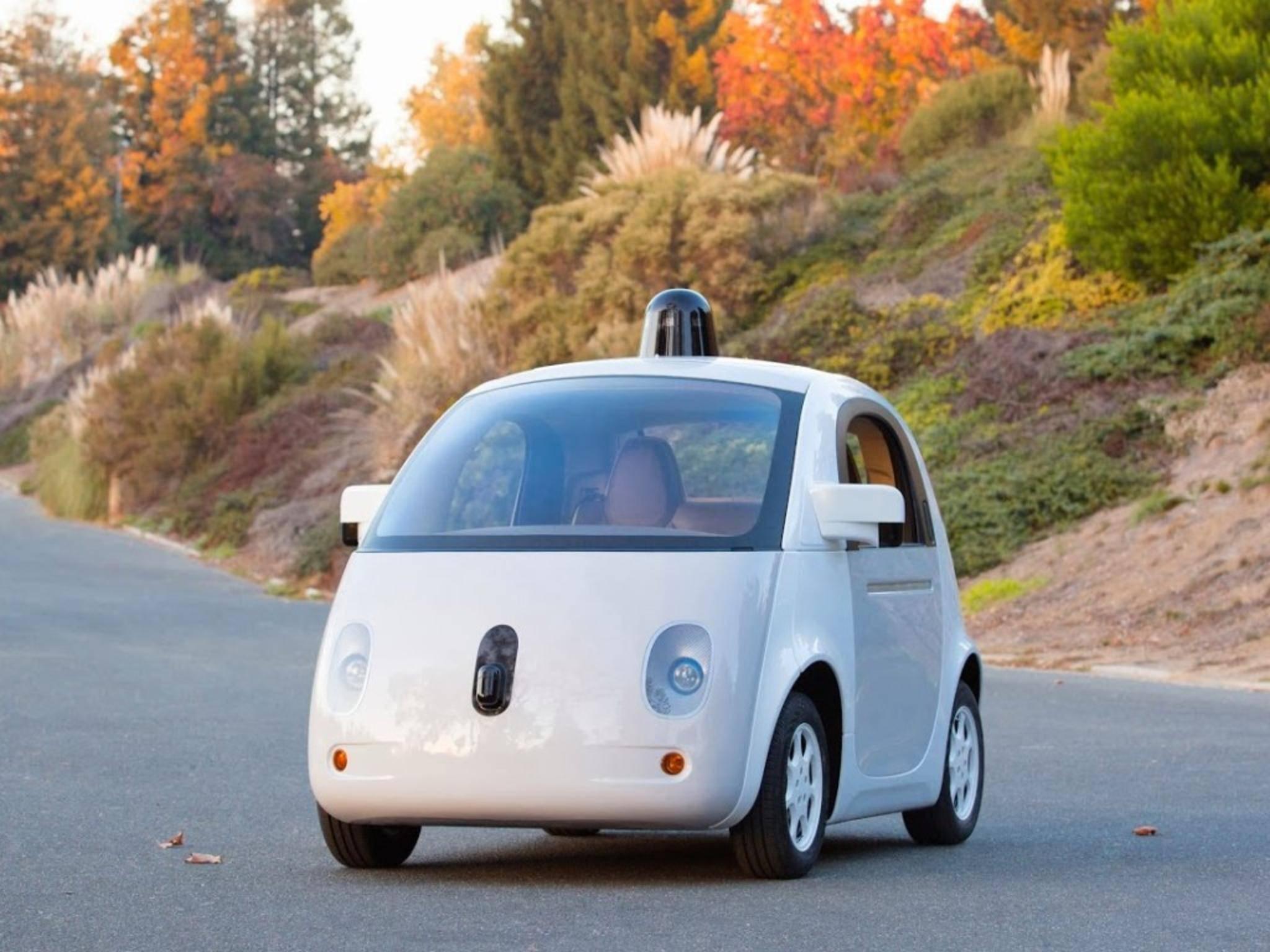Süß statt stylish: Google geht beim Design des selbstfahrenden Autos ungewöhnliche Wege.