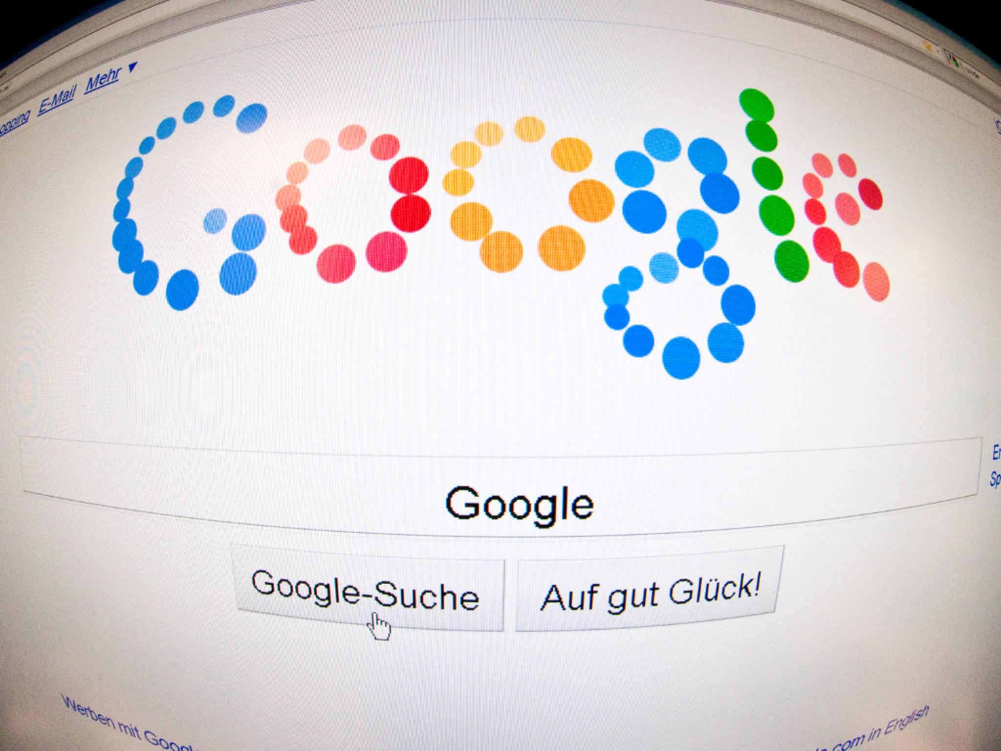 Die US-Domain von Google wechselte kurzzeitig den Besitzer.