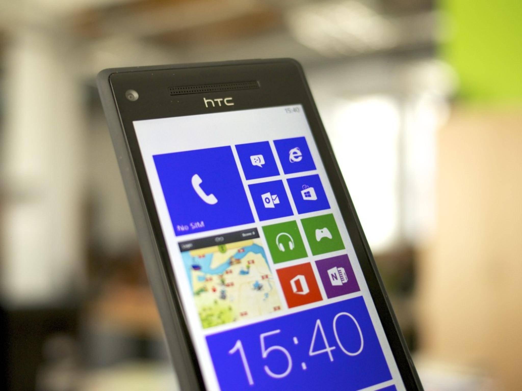 Windows Phones ermöglichen ebenfalls WLAN-Hotspots.