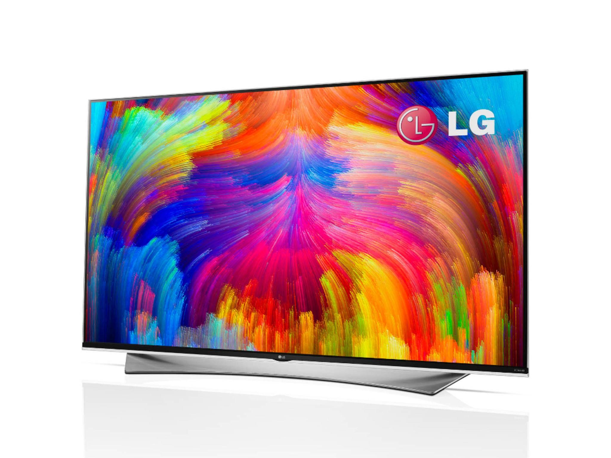 LG-Fernseher mit Quantum Dots.