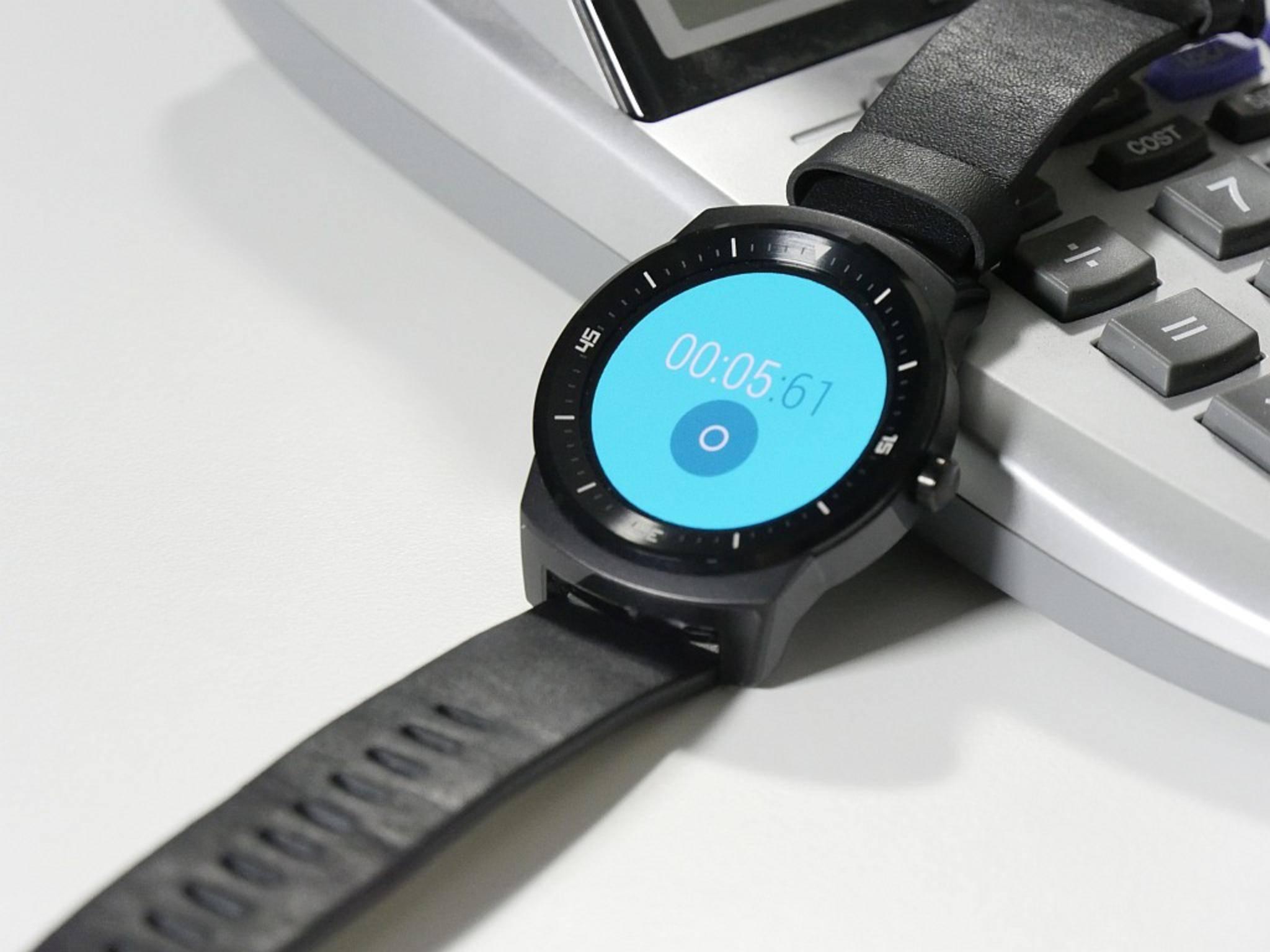Mit in die Smartwatch integriert: eine Stoppuhr- und eine Timer-Funktion.