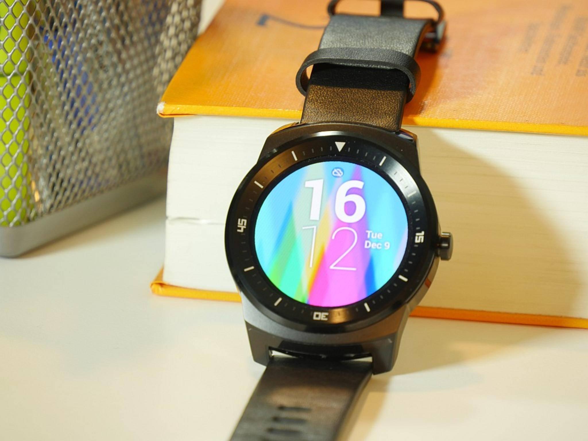 Auch auf der LG G Watch R könnte die neue Tippgeste funktionieren.