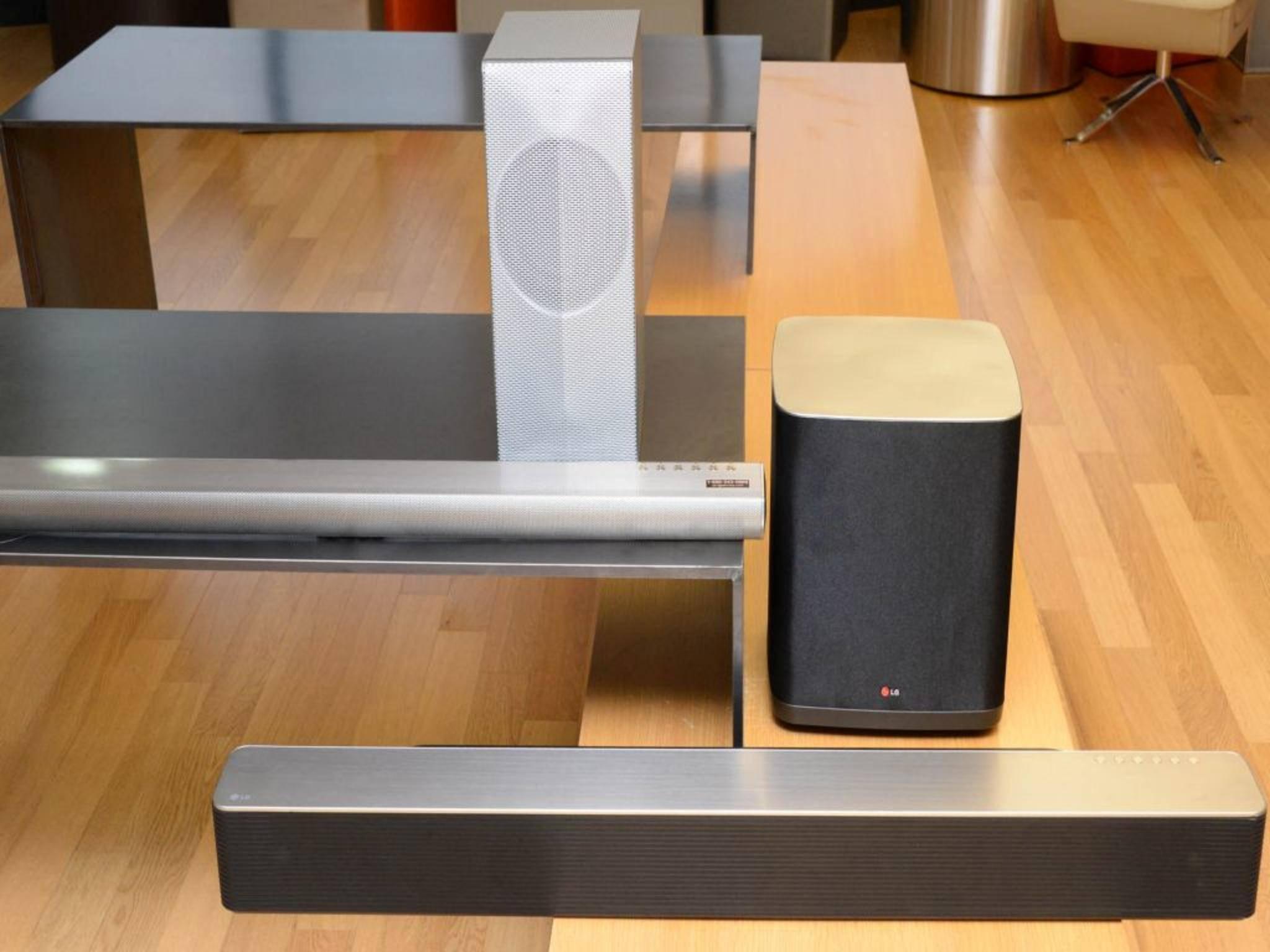 Smarte Lautsprecher von LG: Zuwachs in der Music-Flow-Produktpalette.