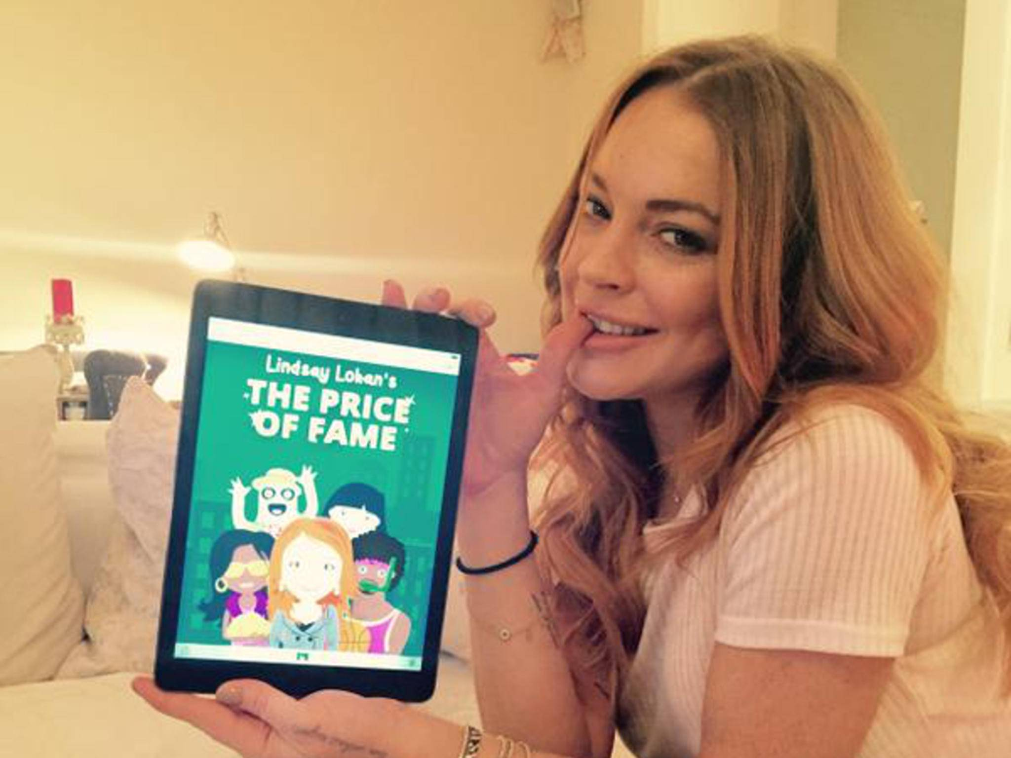 Lindsay Lohan hat jetzt auch ein Mobile Game