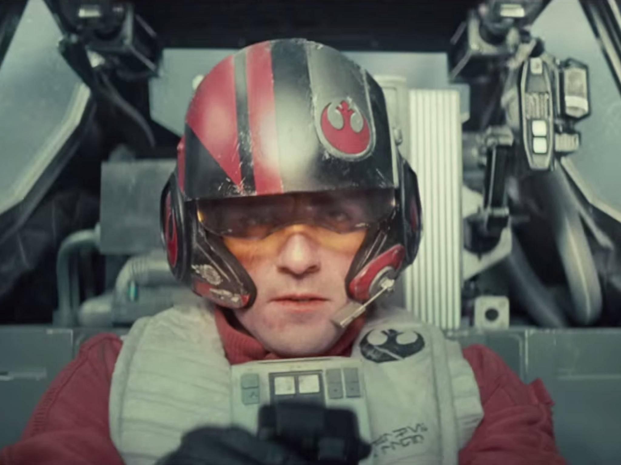 Der X-Wing-Pilot Poe Dameron wird von Oscar Isaac gespielt.