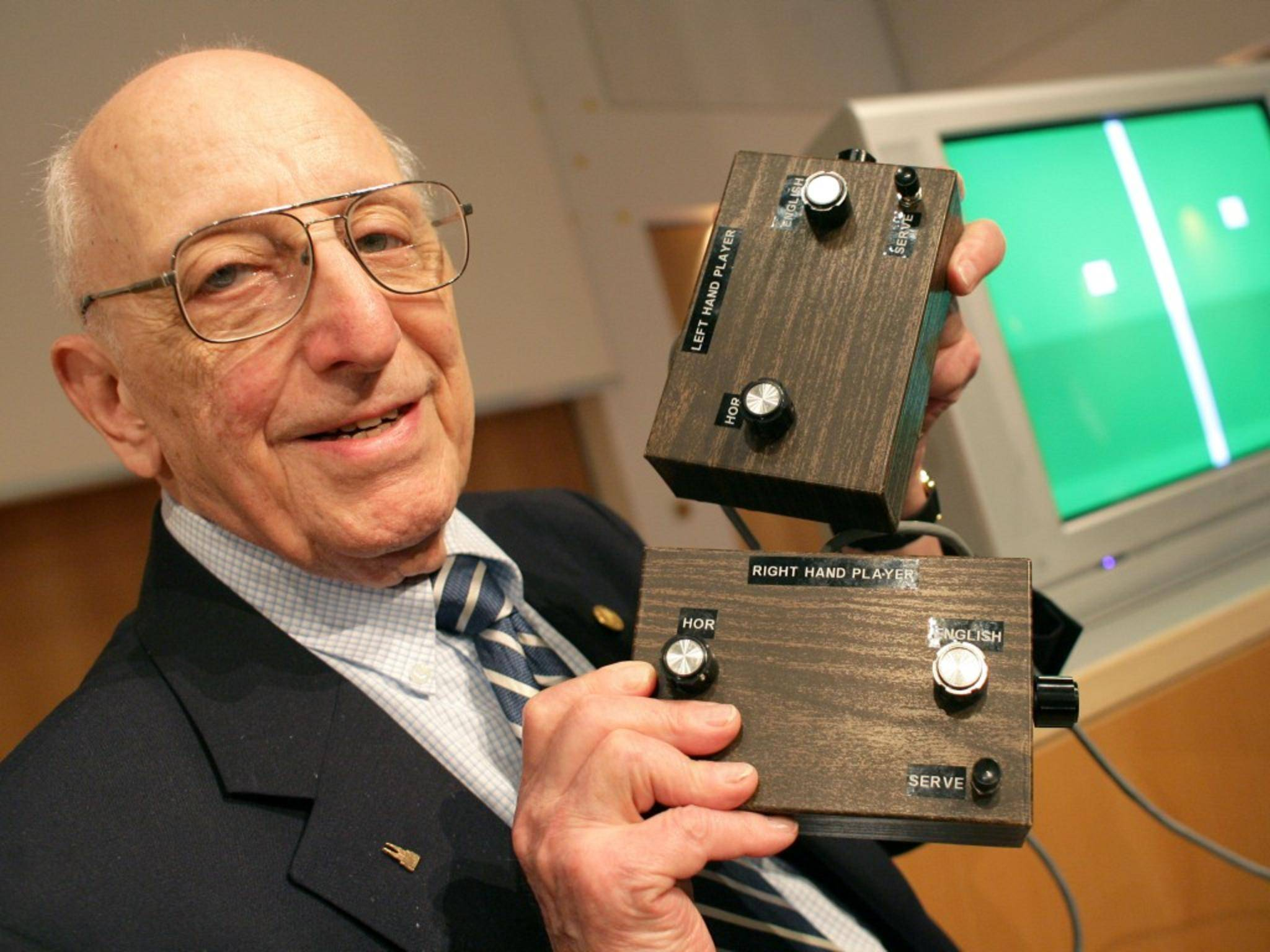 Ralph Baer war bis ins hohe Alter als Erfinder aktiv.
