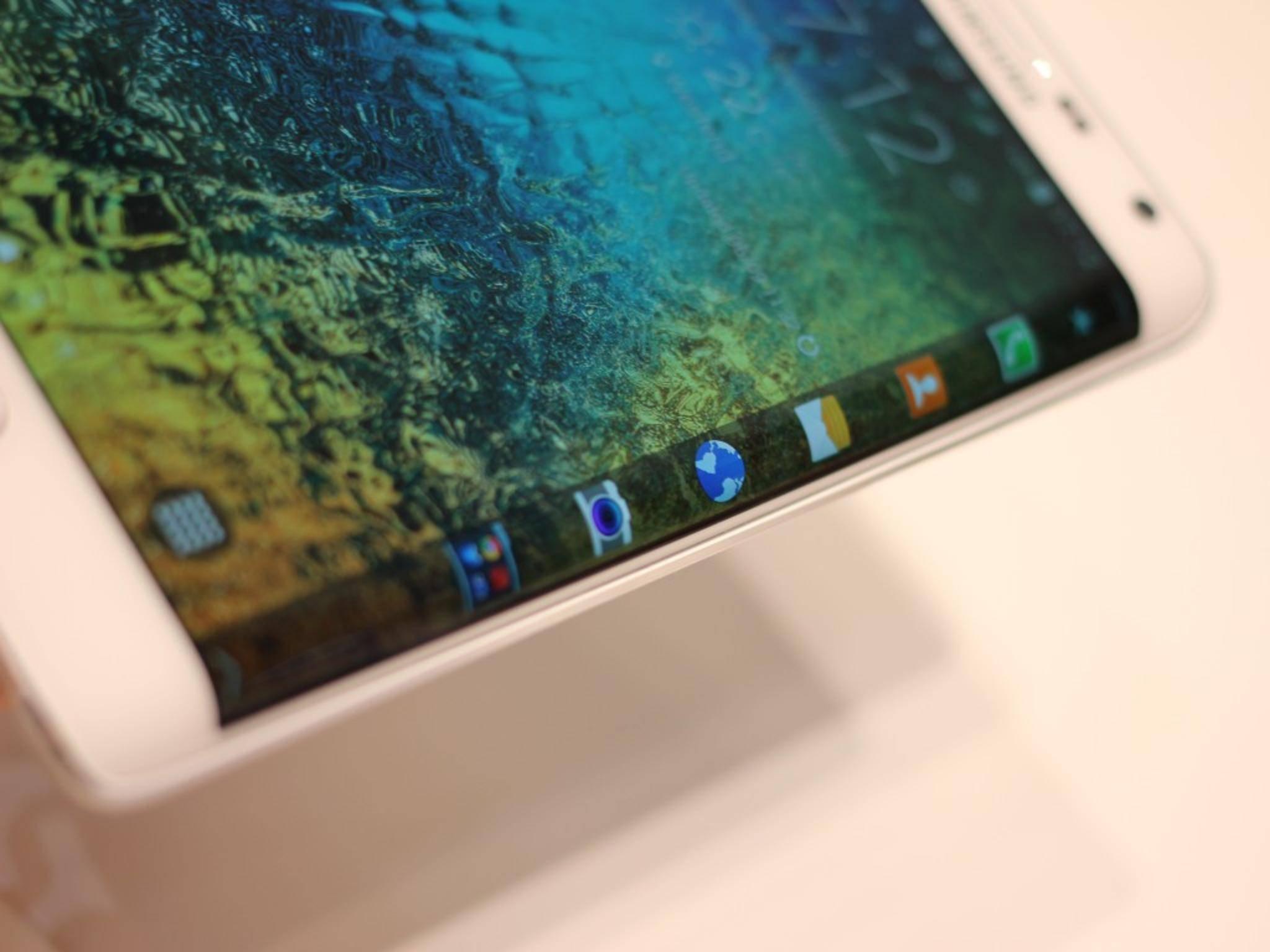 Auch das kommende Galaxy S6 soll es mit Edge-Display geben.