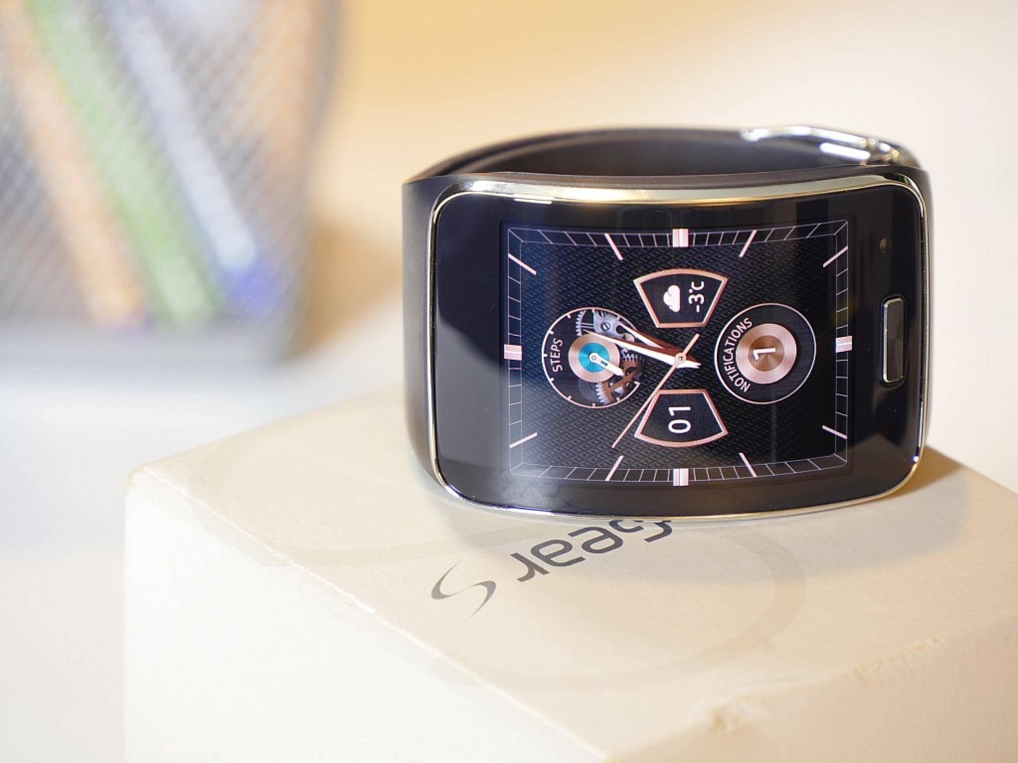 Die Samsung Gear S soll auch ohne Smartphone-Anbindung auskommen.