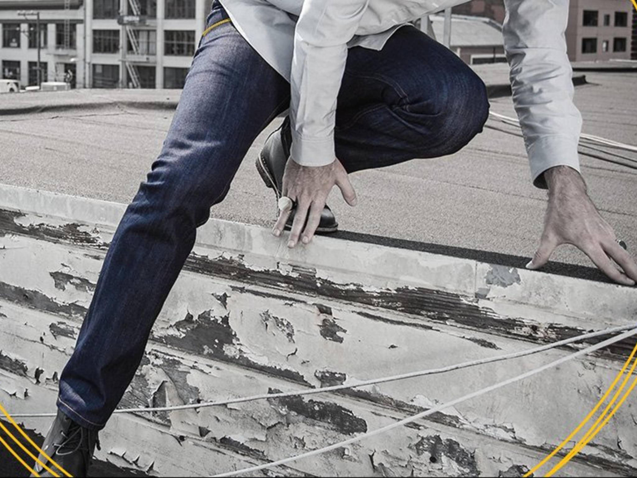 Diese Jeans von Betabrand soll vor dem Diebstahl von Kreditkartendaten schützen.