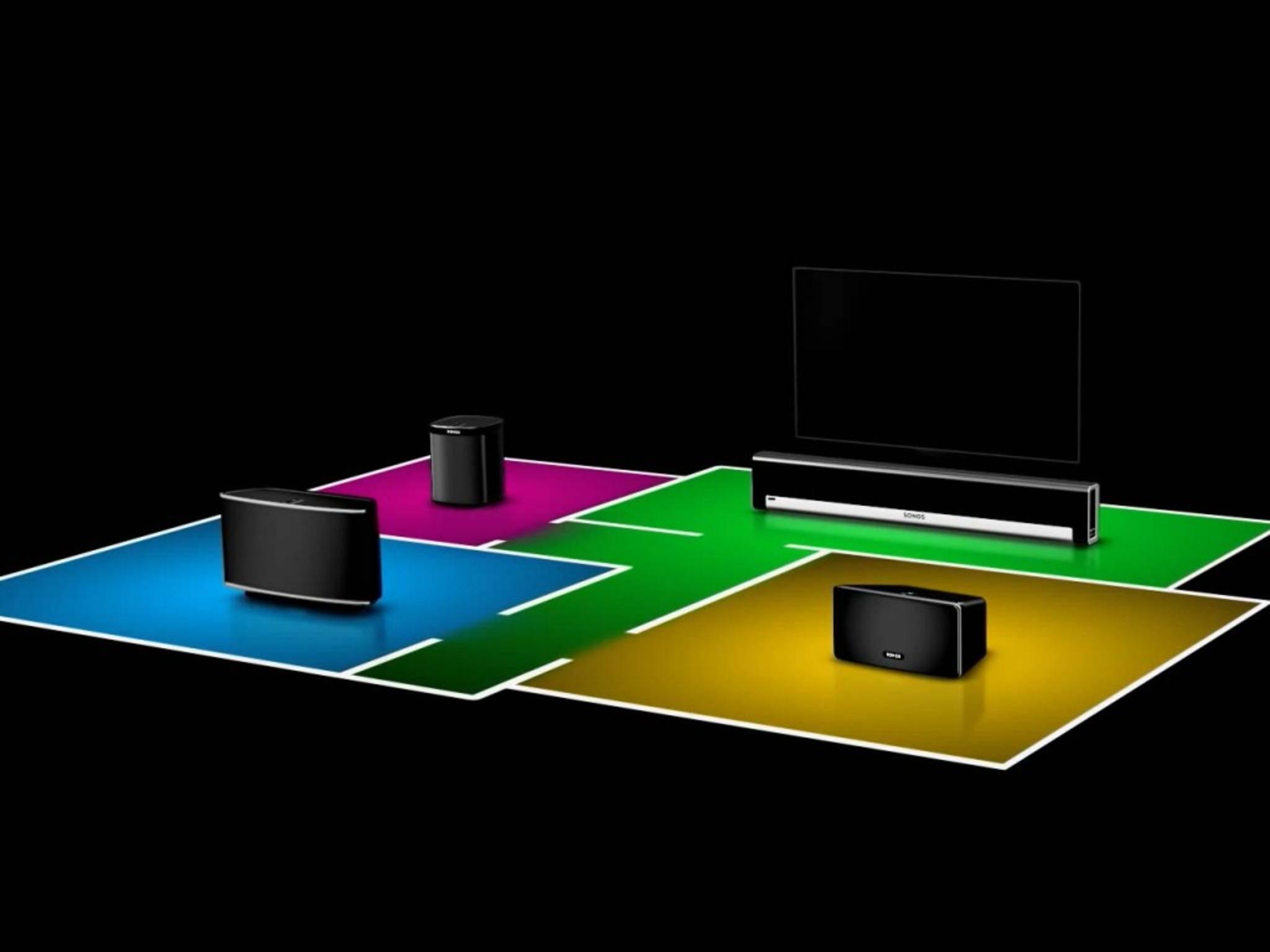 Sonos entwickelt Lautsprecherlösungen für die ganze Wohnung.