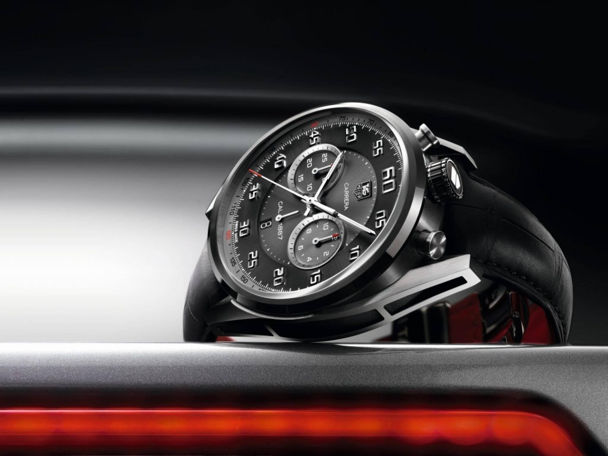 Der Schweizer Uhrenhersteller TAG Heuer könnte auf der CES eine eigene Smartwatch enthüllen.