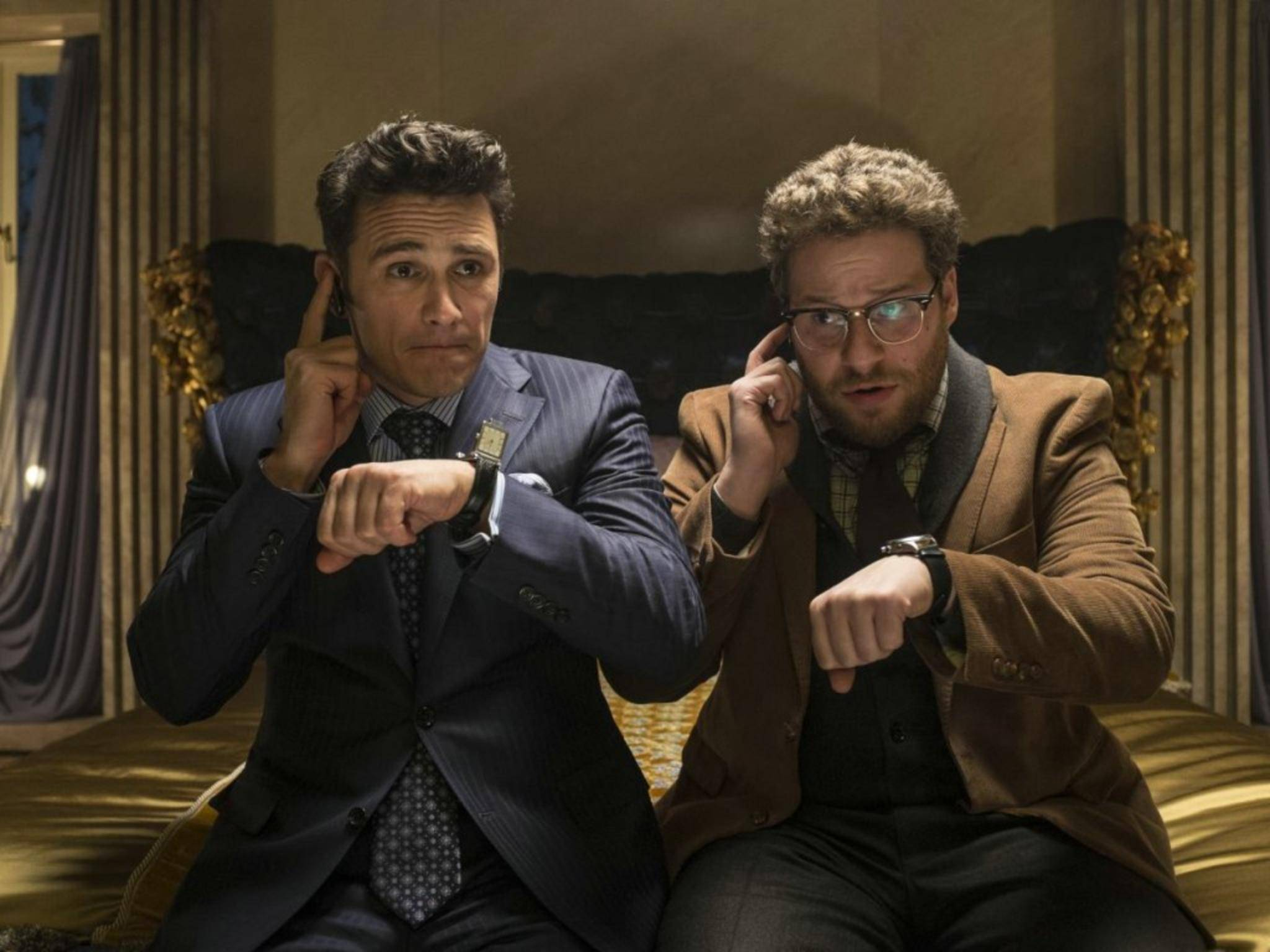 Im Film planen James Franco und Seth Rogen einen Anschlag auf Kim Jong-un.