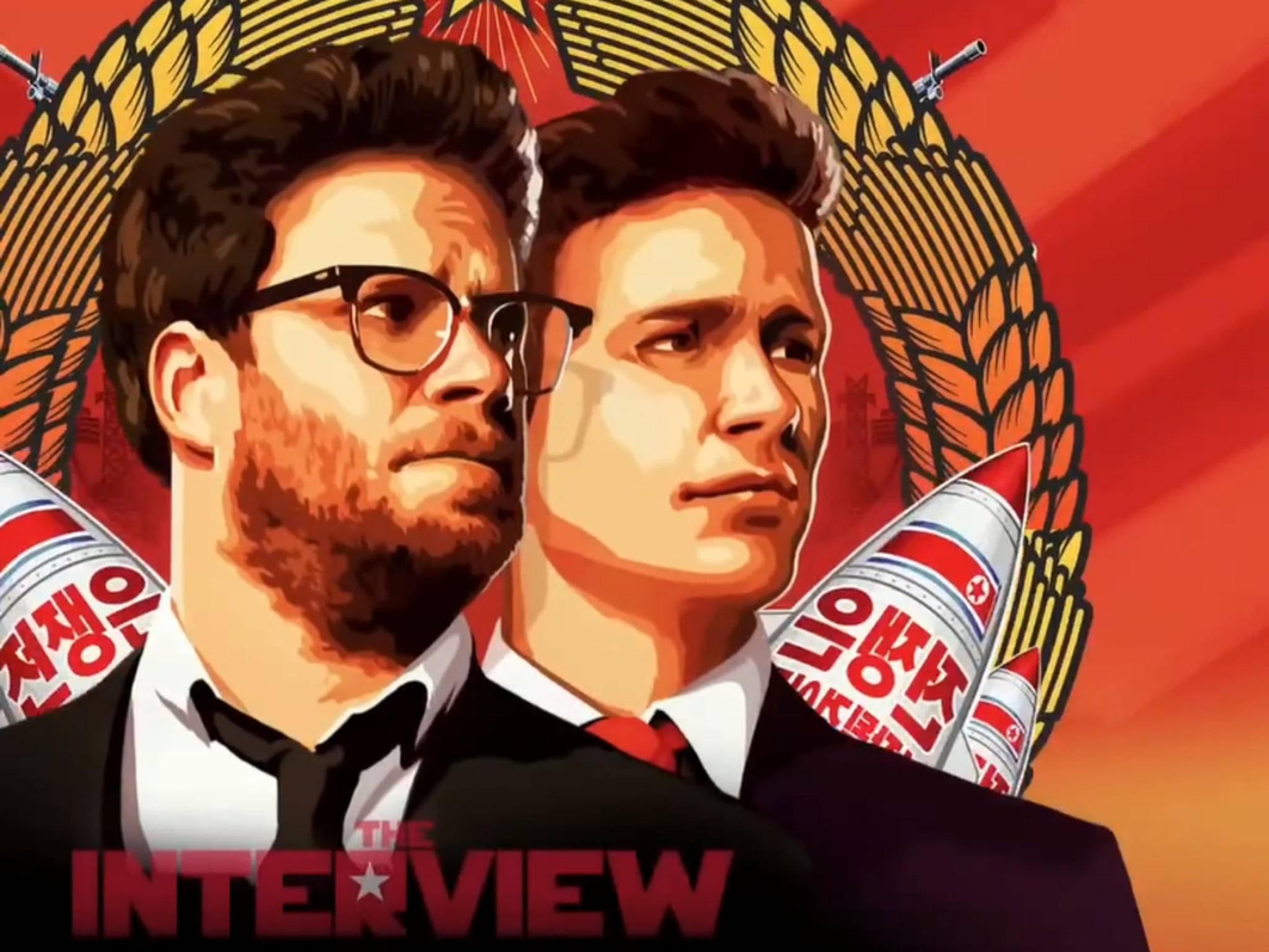 """The Interview"" wird seit dem 24. Dezember offiziell im Netz gestreamt."
