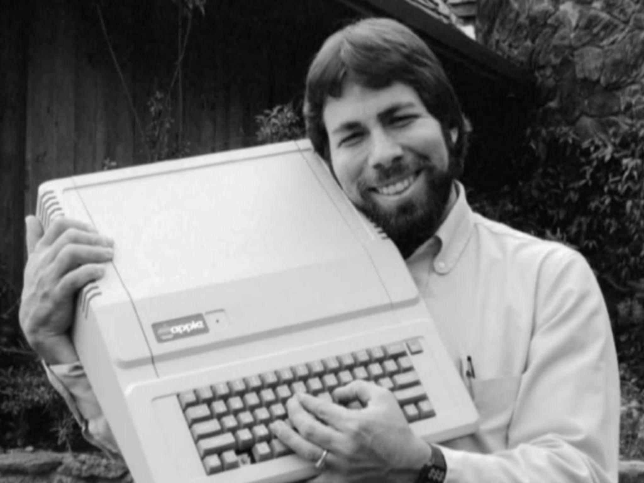 """Diese Promis lieben Apple fast so sehr wie Mitbegründer Steve """"Woz"""" Wozniak."""