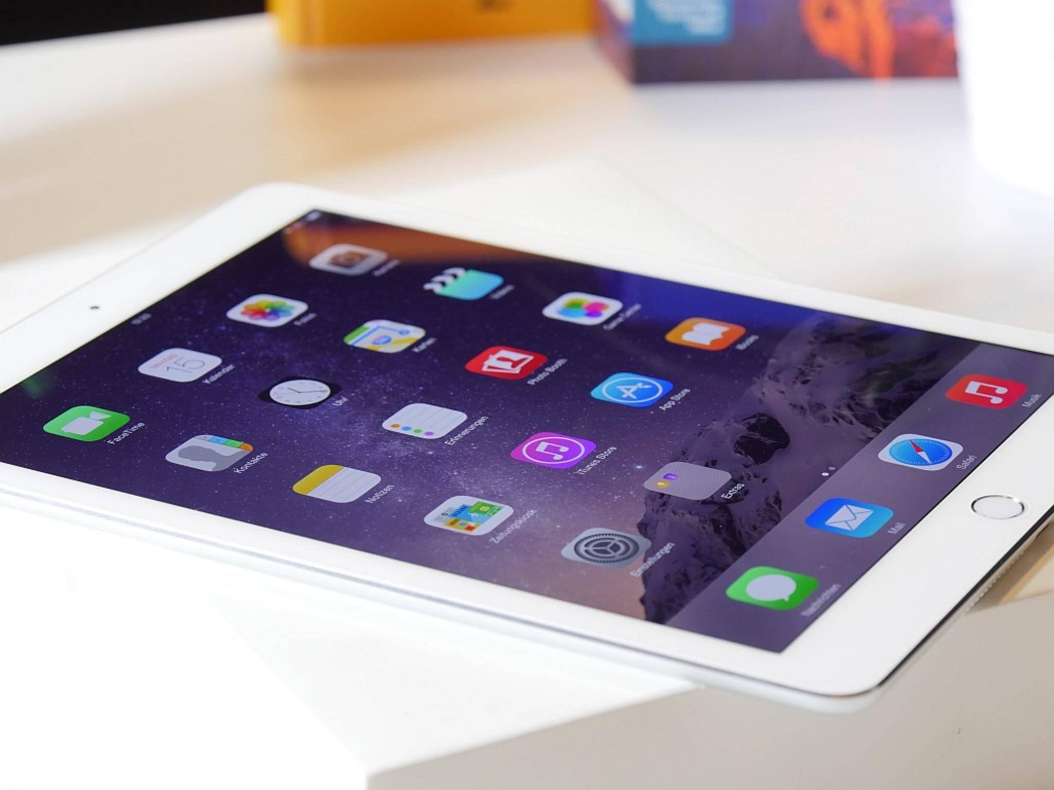 Das iPad Pro könnte sogar noch größer als das iPad Air 2 werden.