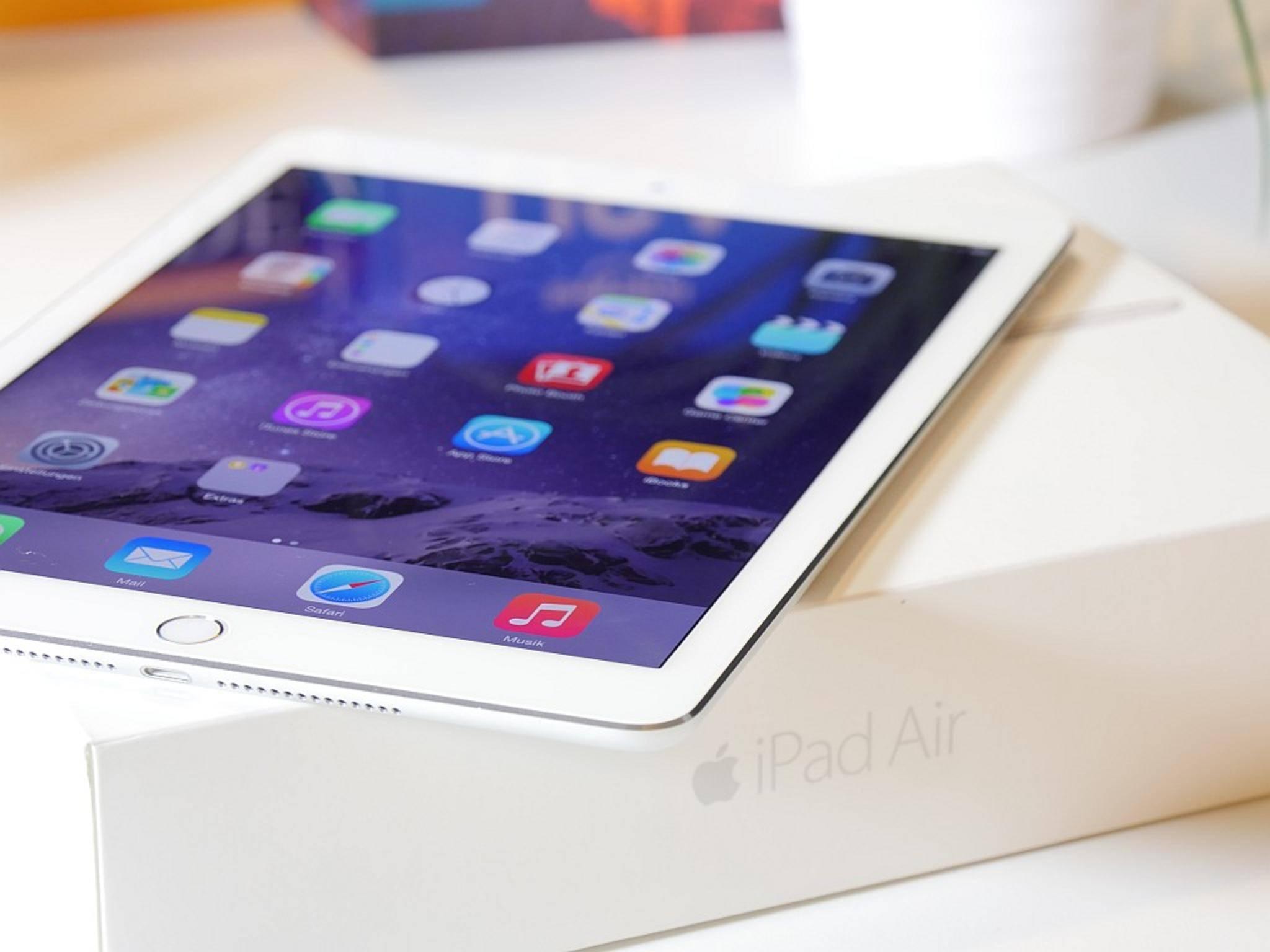 Das iPad Air 2 ist schon eineinhalb Jahre alt.