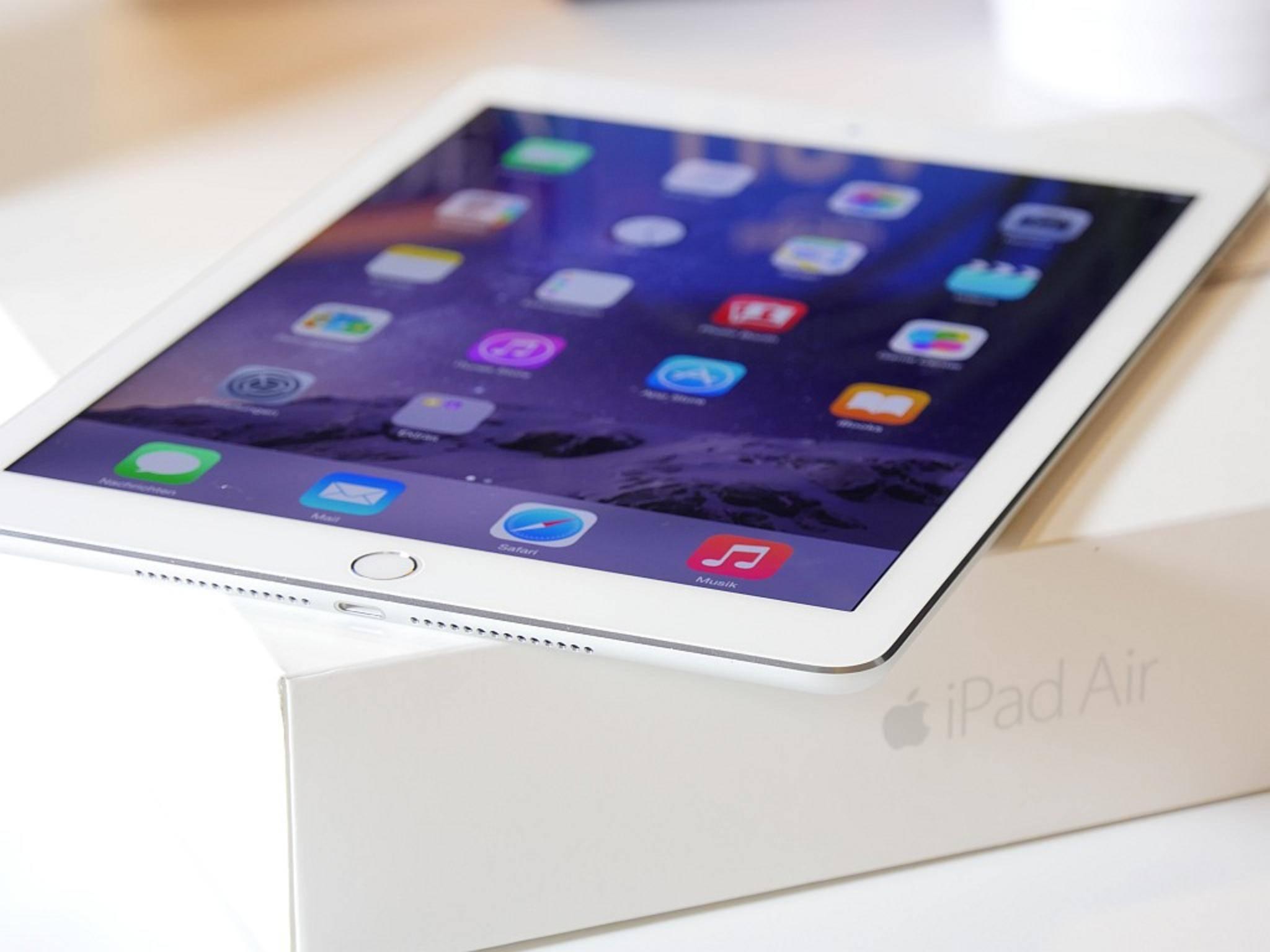 Das iPad Air 2 ist aktuell eines der besten Tablets auf dem Markt.