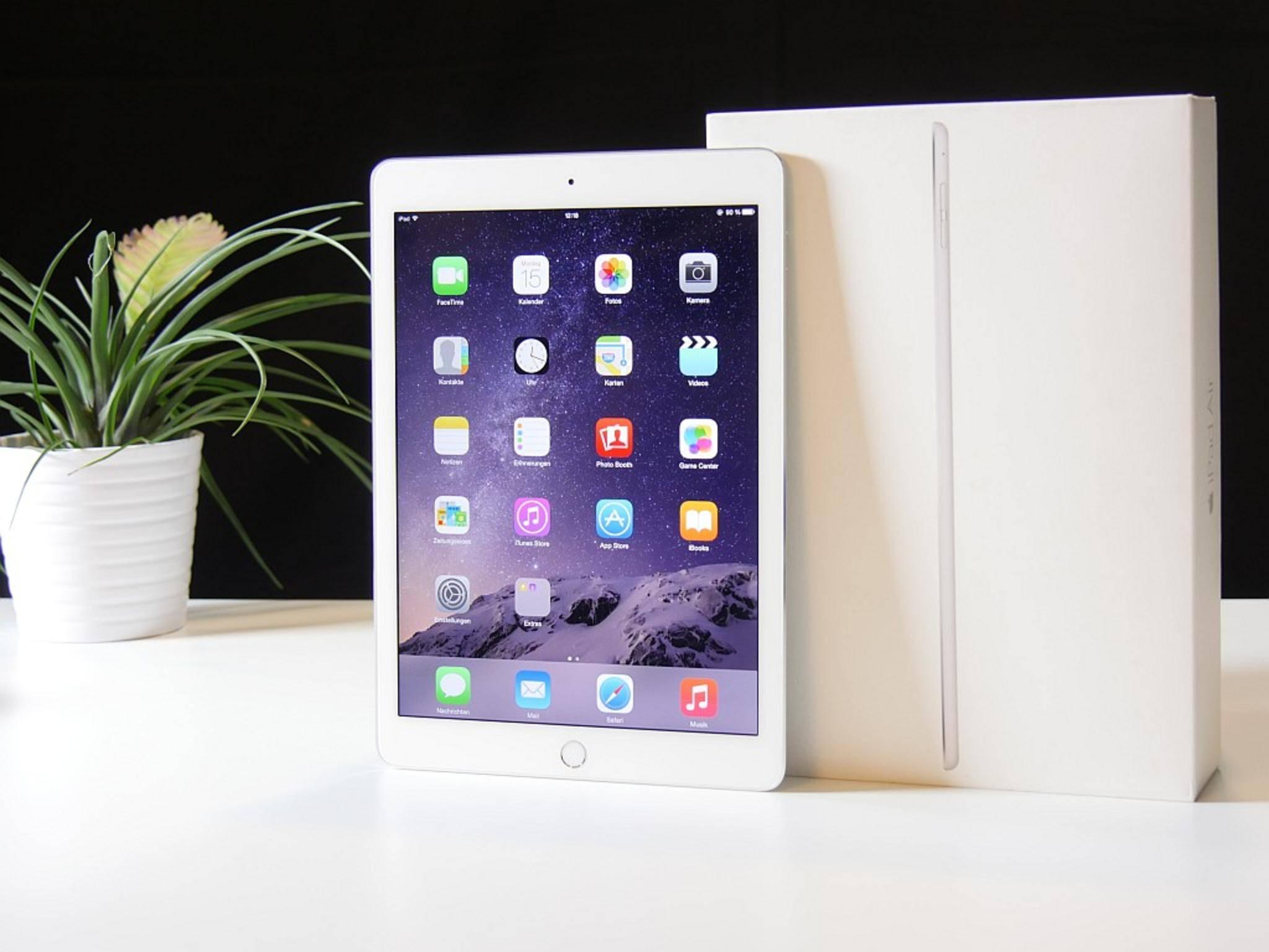 Mit dem iPad Pro steht vermutlich ein Nachfolger für das iPad Air 2 in den Startlöchern.