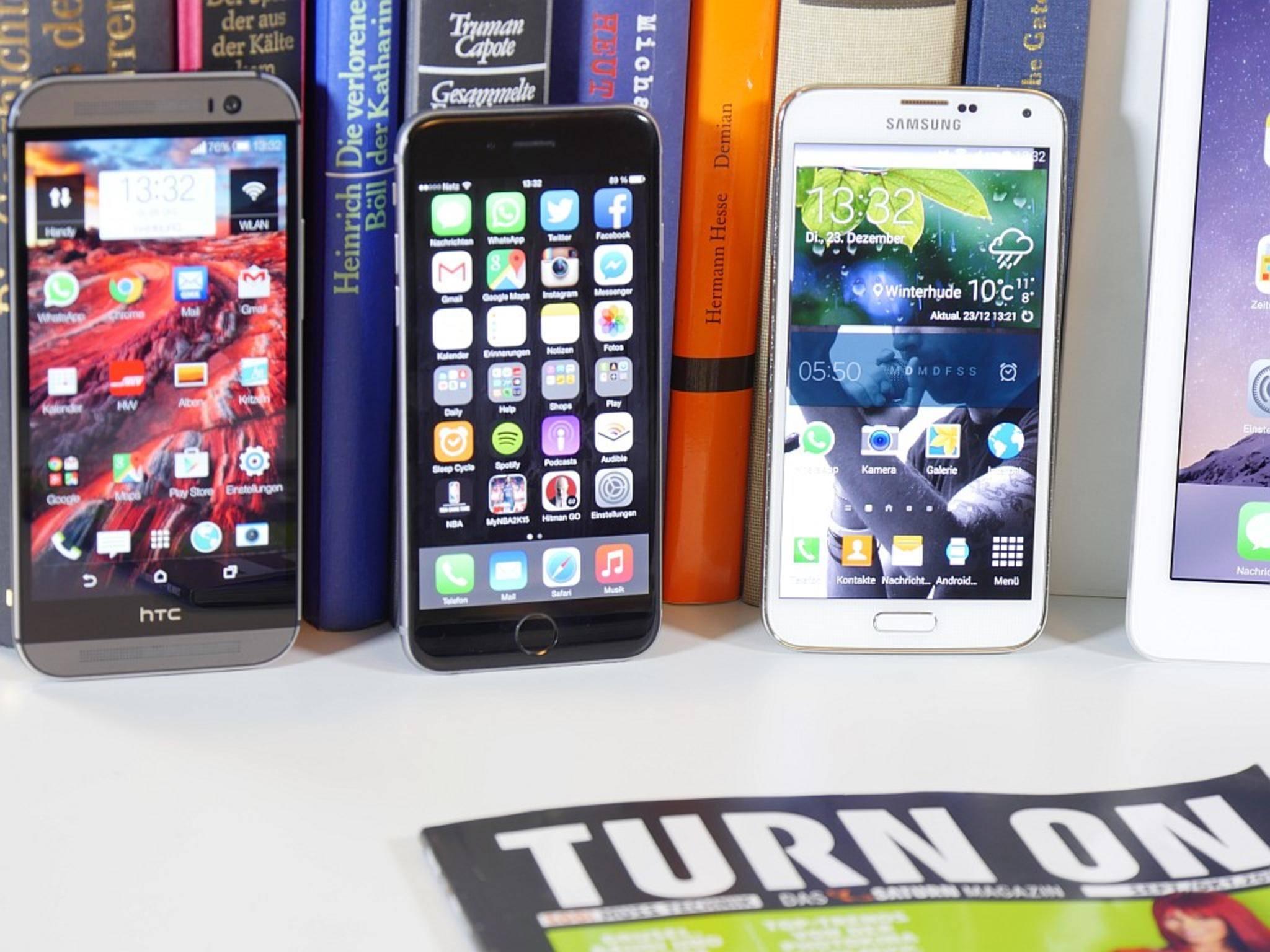 Das iPhone hat im vergangenen Quartal rekordmäßig viele Android-User zum Wechsel bewegt.