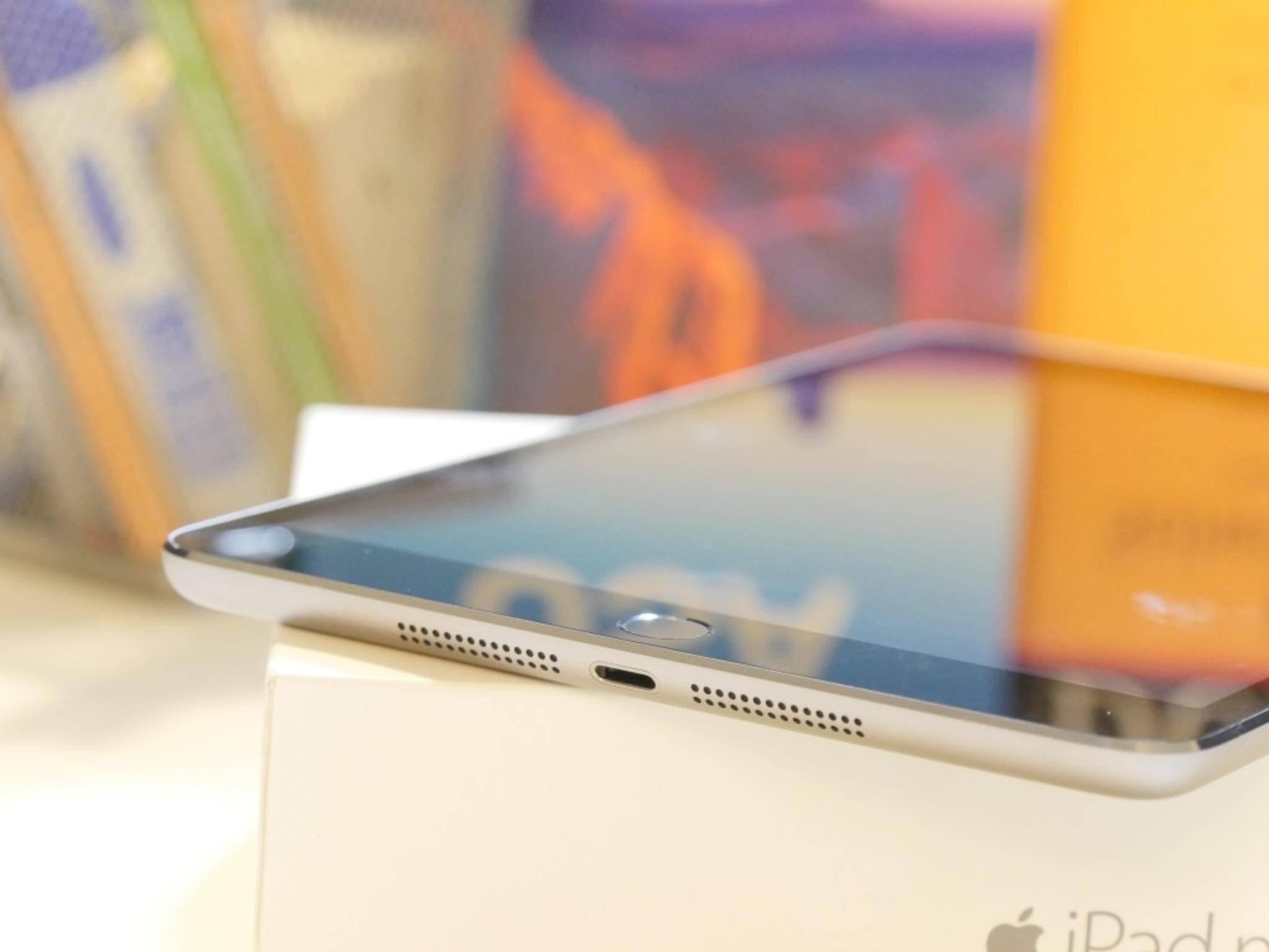 Das kleine iOS-Gerät bringt 331 Gramm auf die Waage.