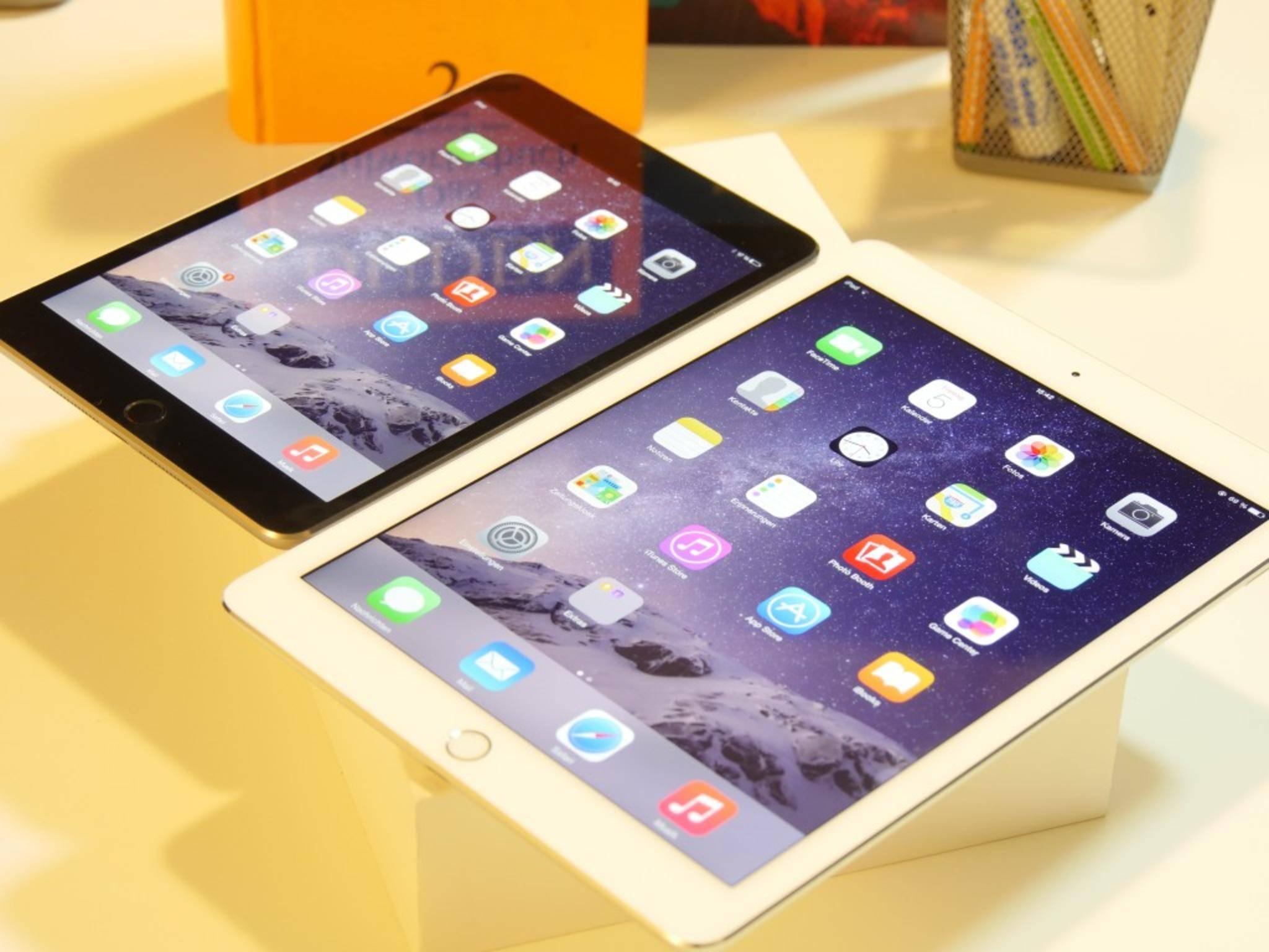 Das iPad mini 4 könnte die Specs des iPad Air 2 haben.
