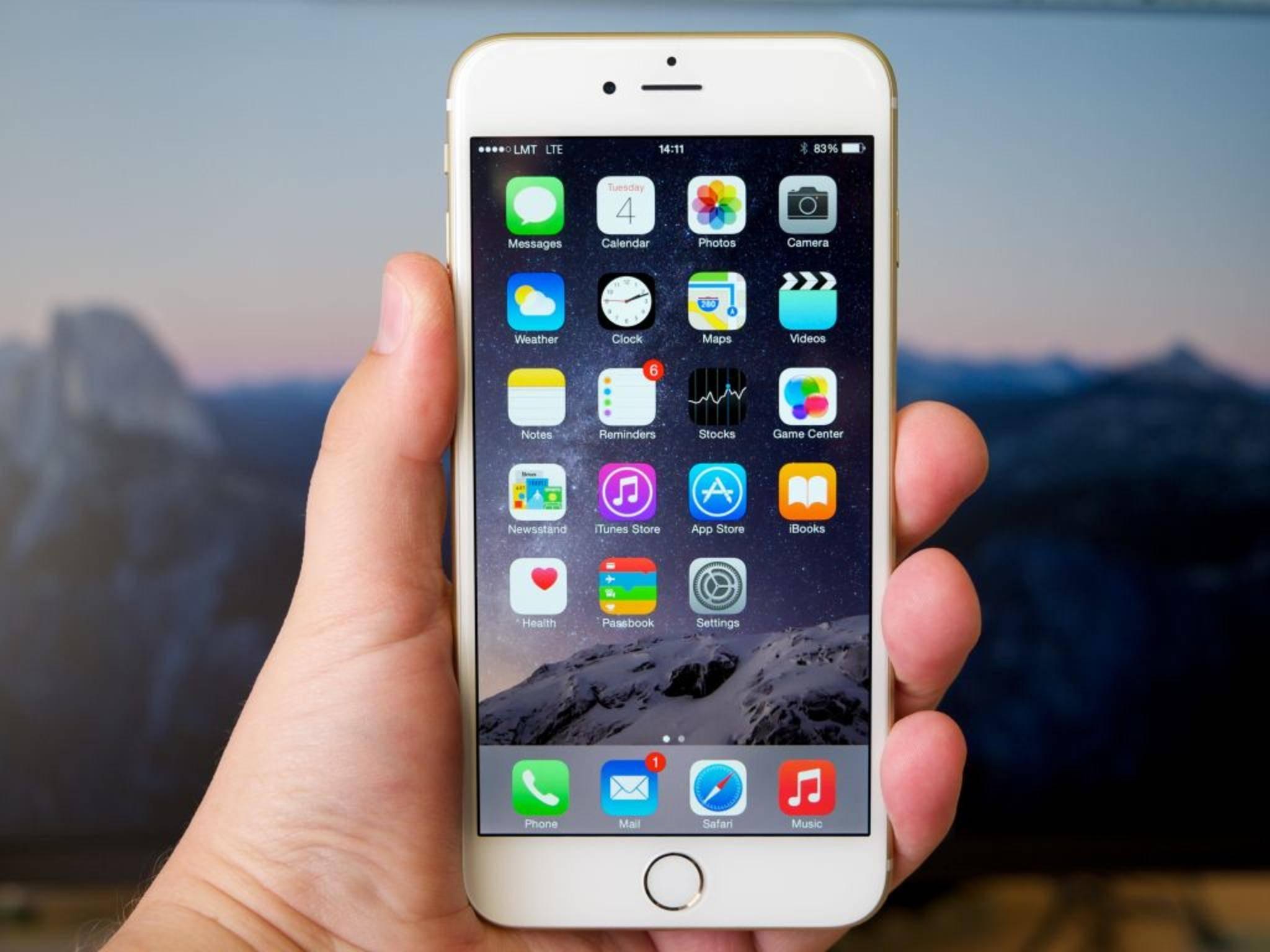 Jeder iOS-Homescreen ist überfüllt mit nicht löschbaren System-Apps.